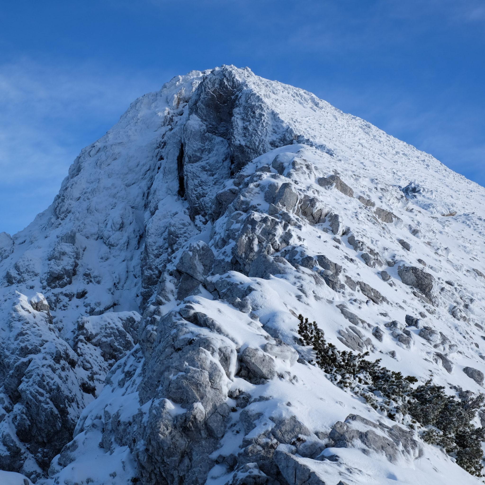 The great peak at its 2,060 meters or 6,760 feet.