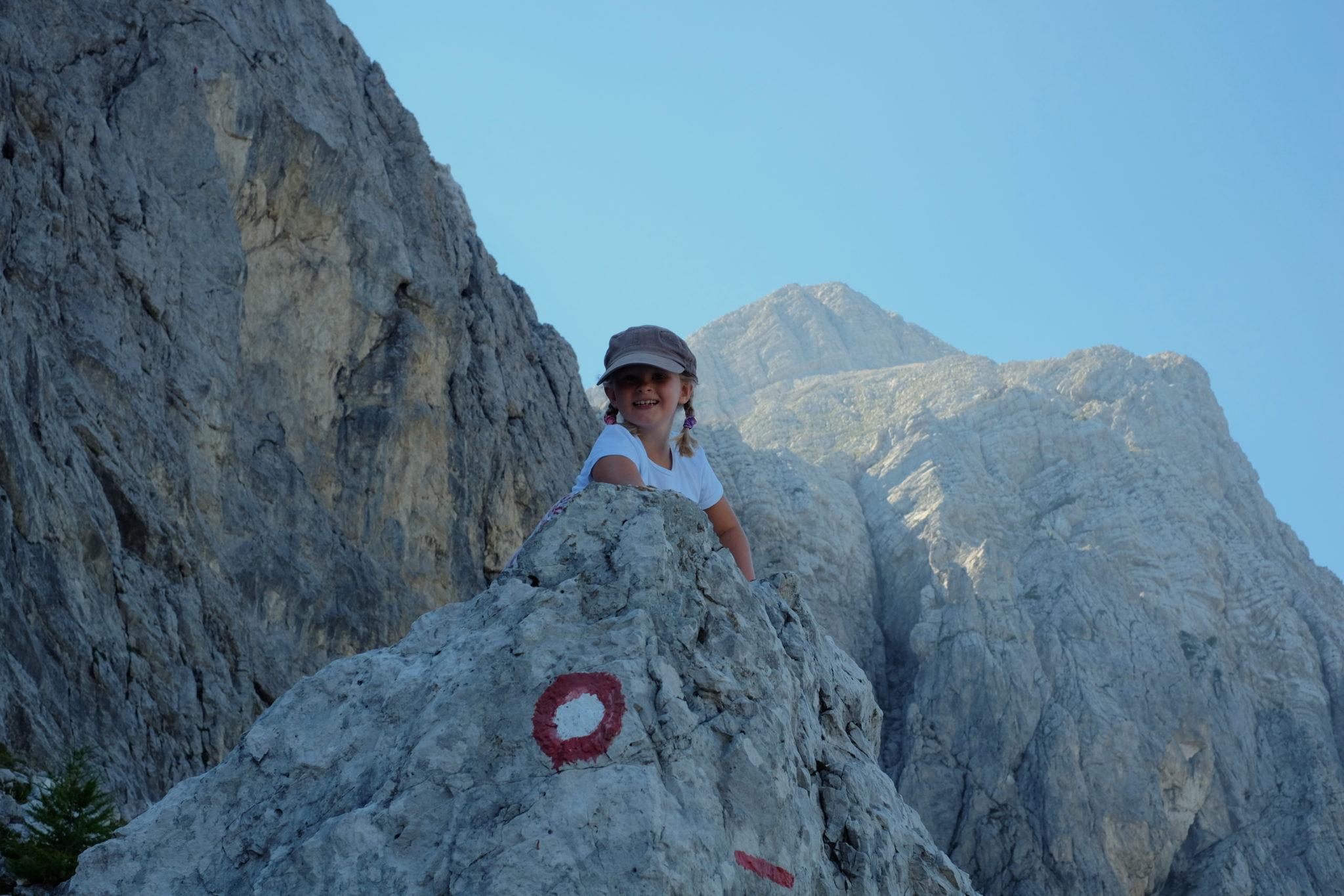 Hanzova trail below Mt. Mojstrovka and its breathtaking scenery