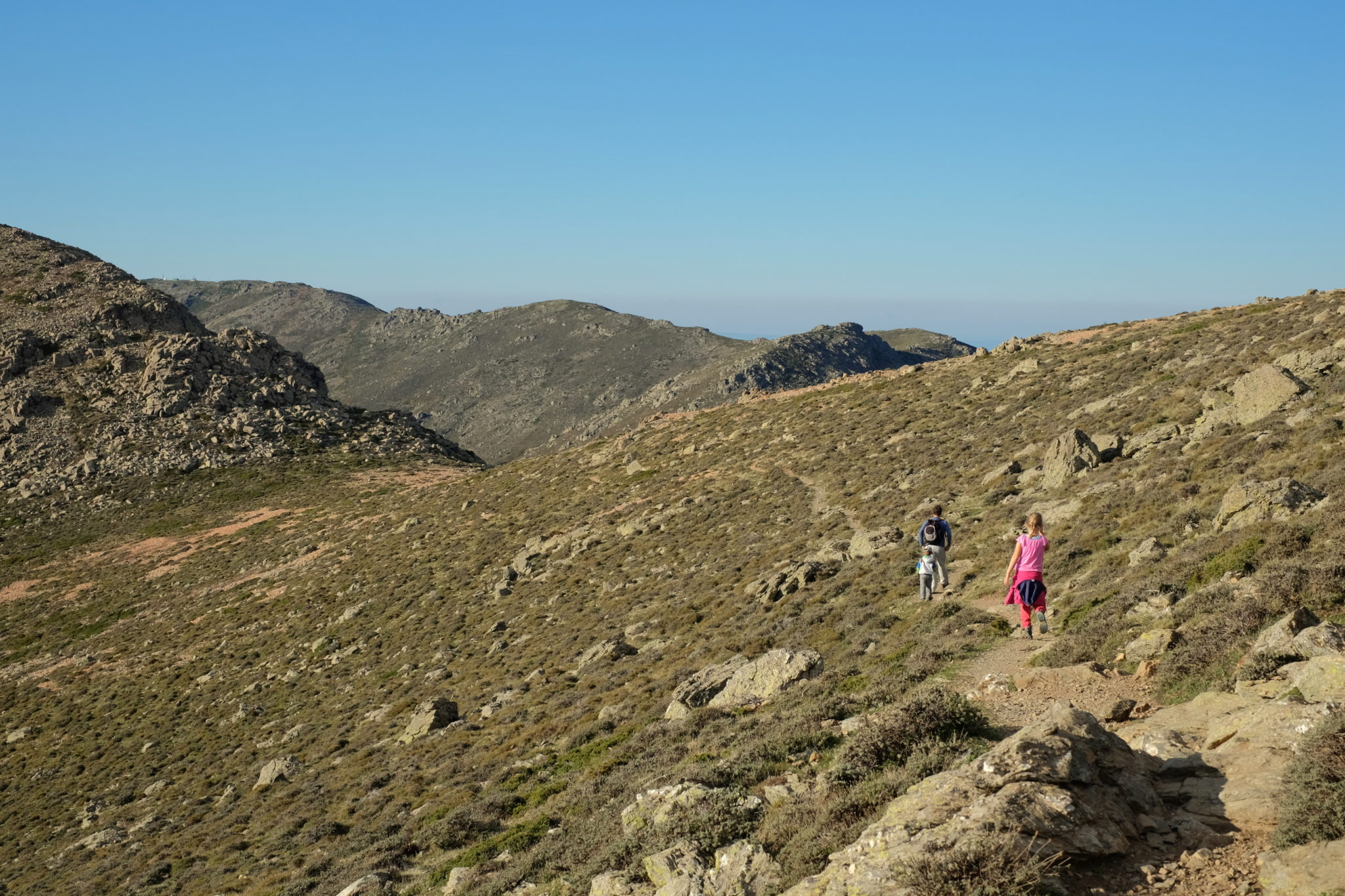 Hiking Punta La Marmora, the highest summit of Sardinia
