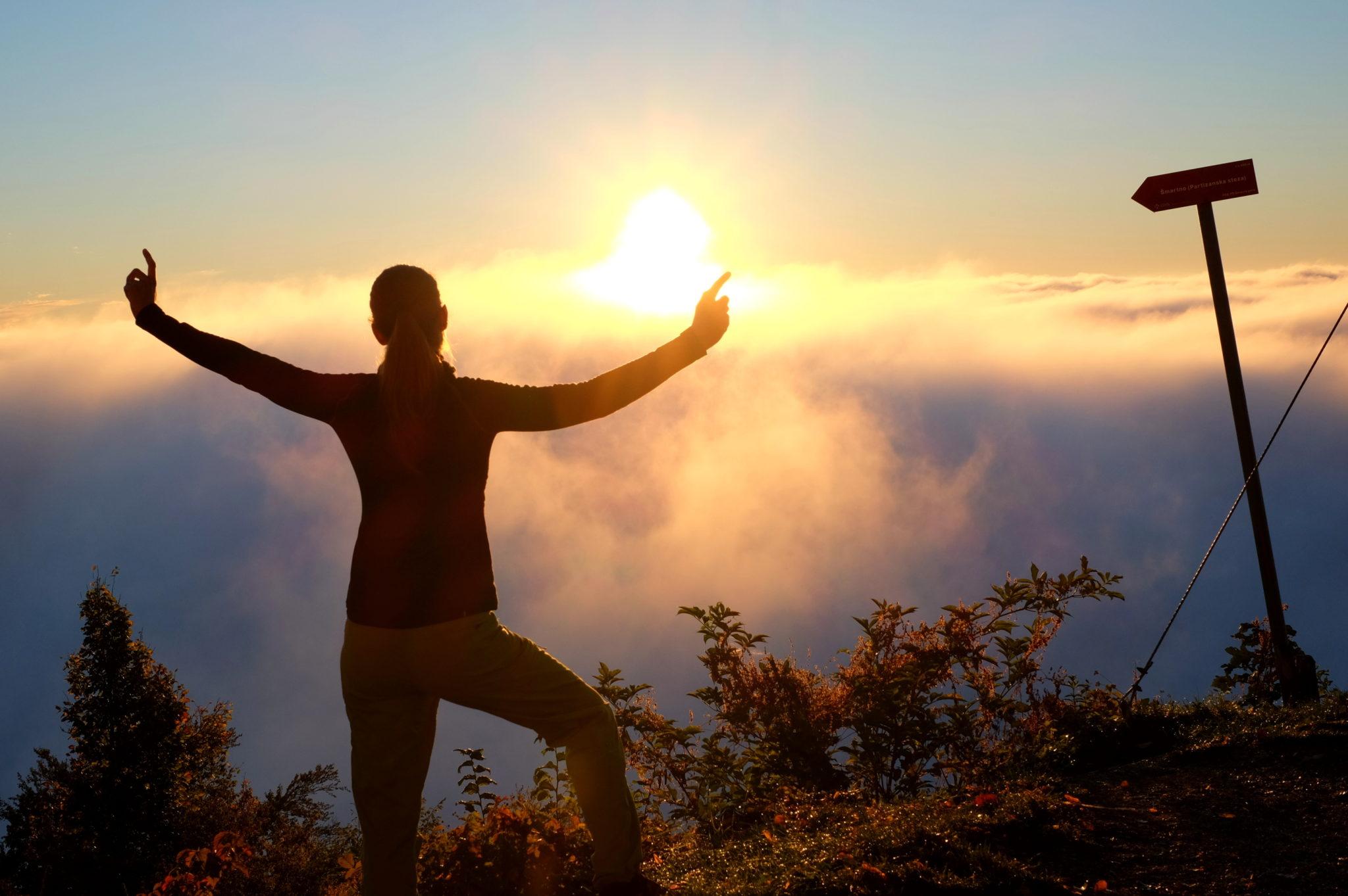 Šmarna Gora for sunrise