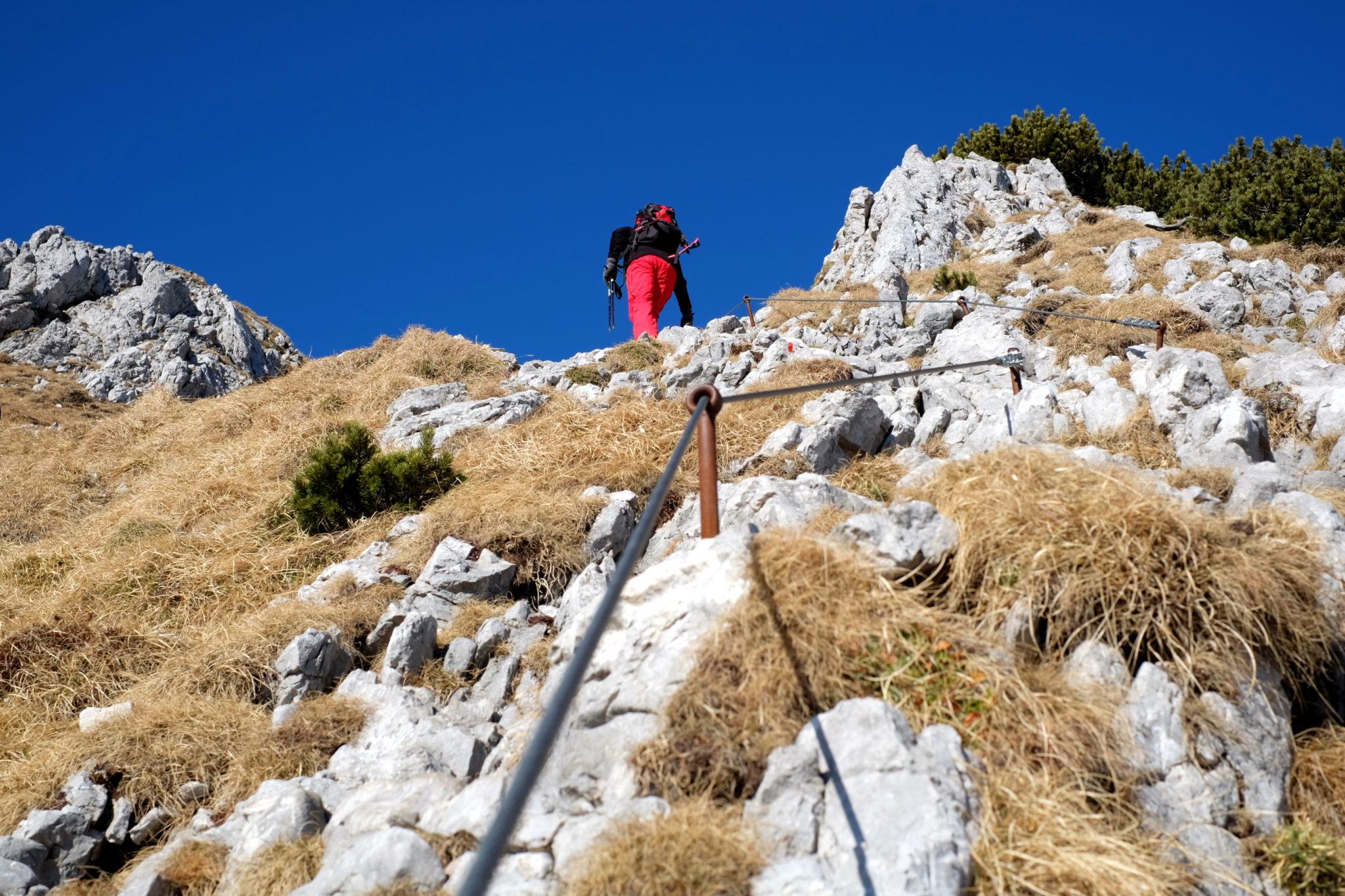 Climbing Storžič