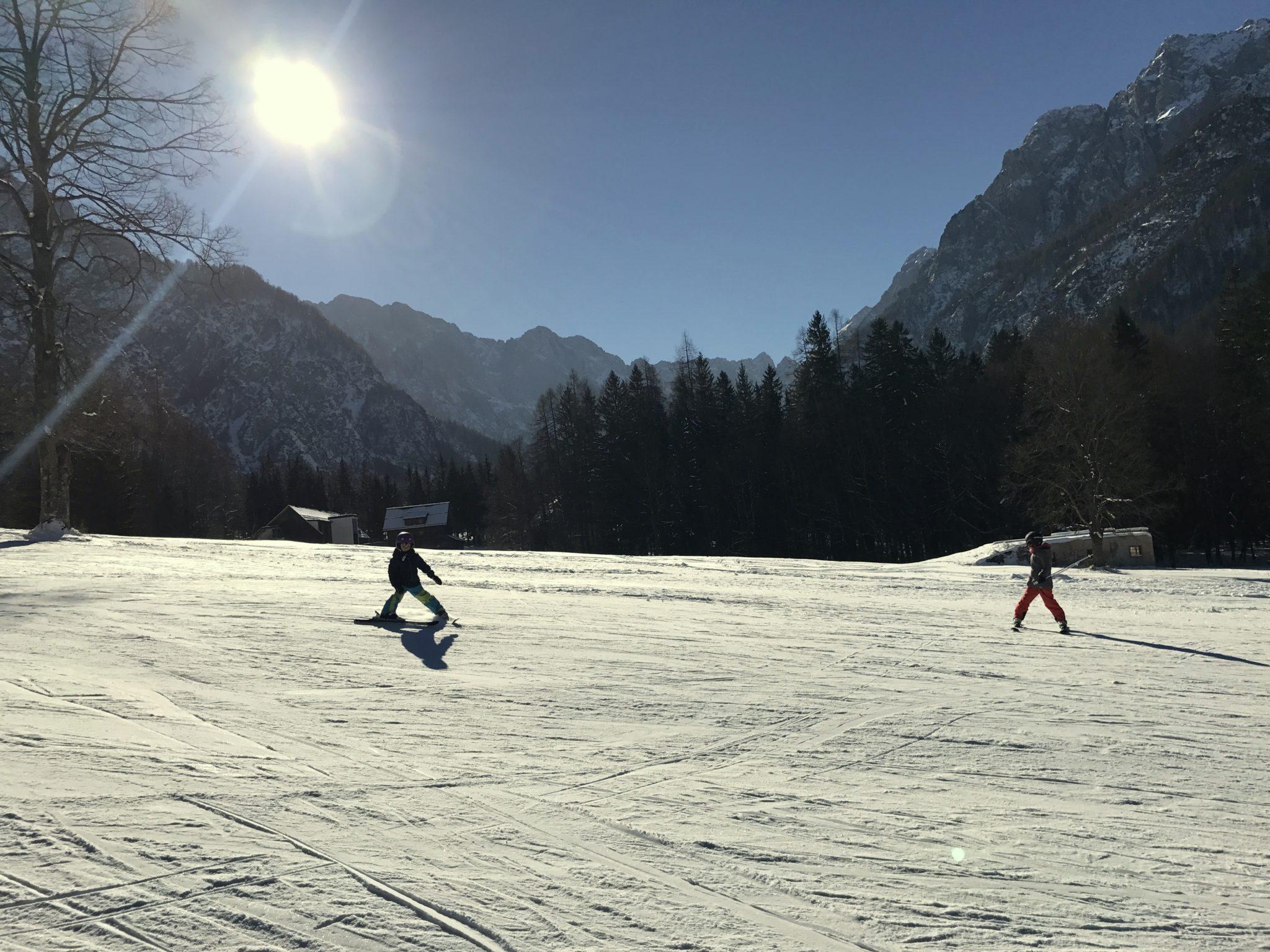 Planica ski slope