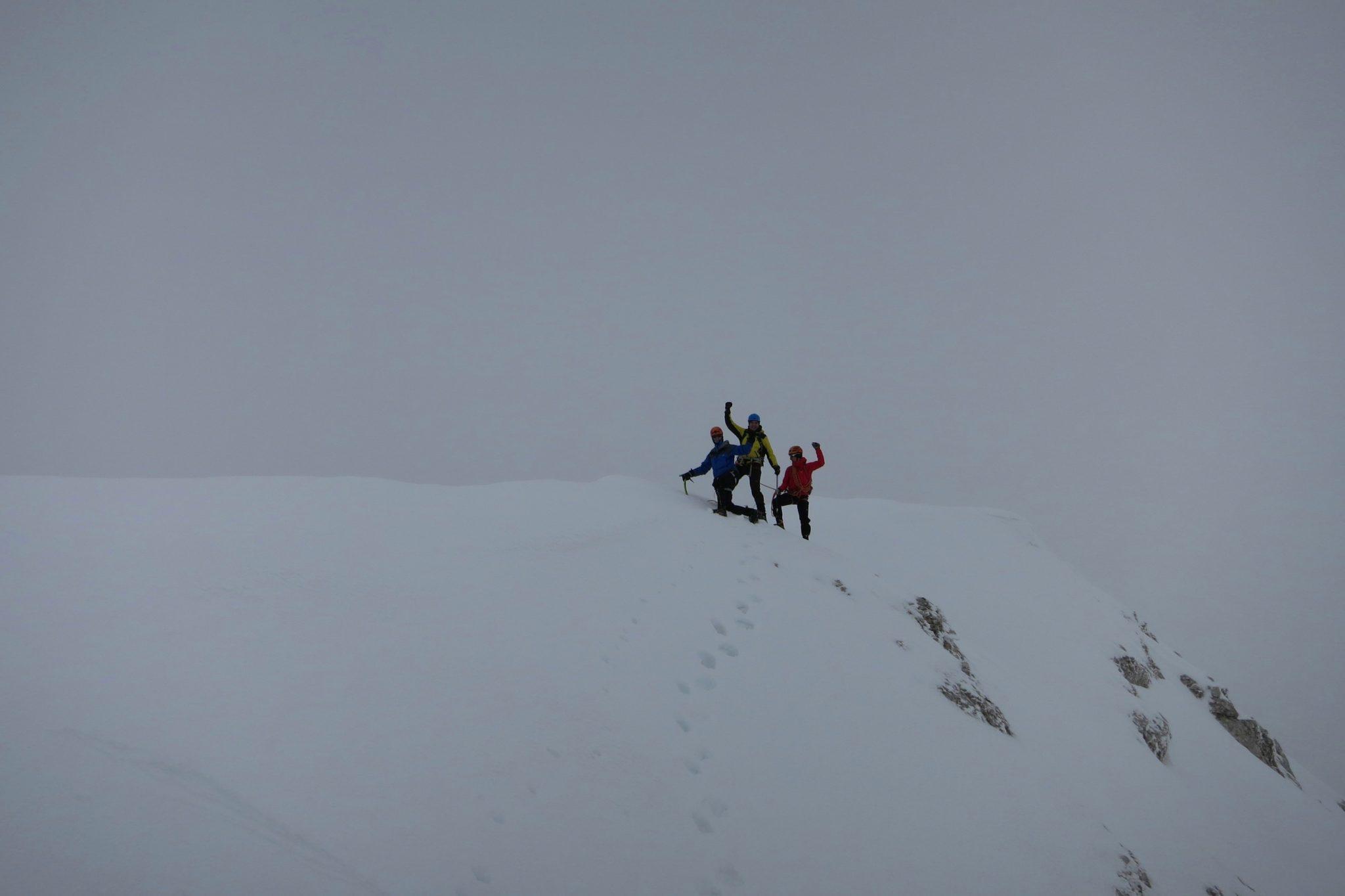 Climbing Triglav with a mountain guide
