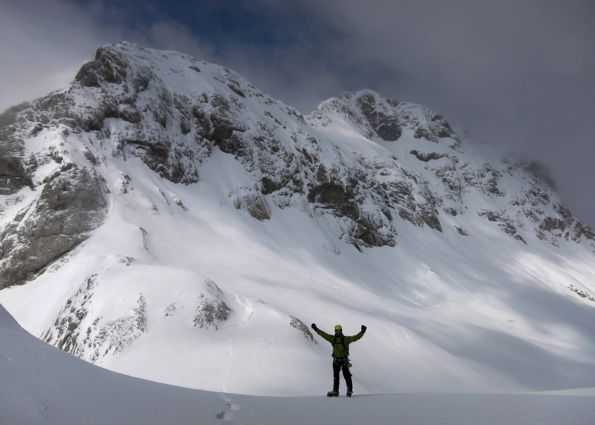 Triglav in winter