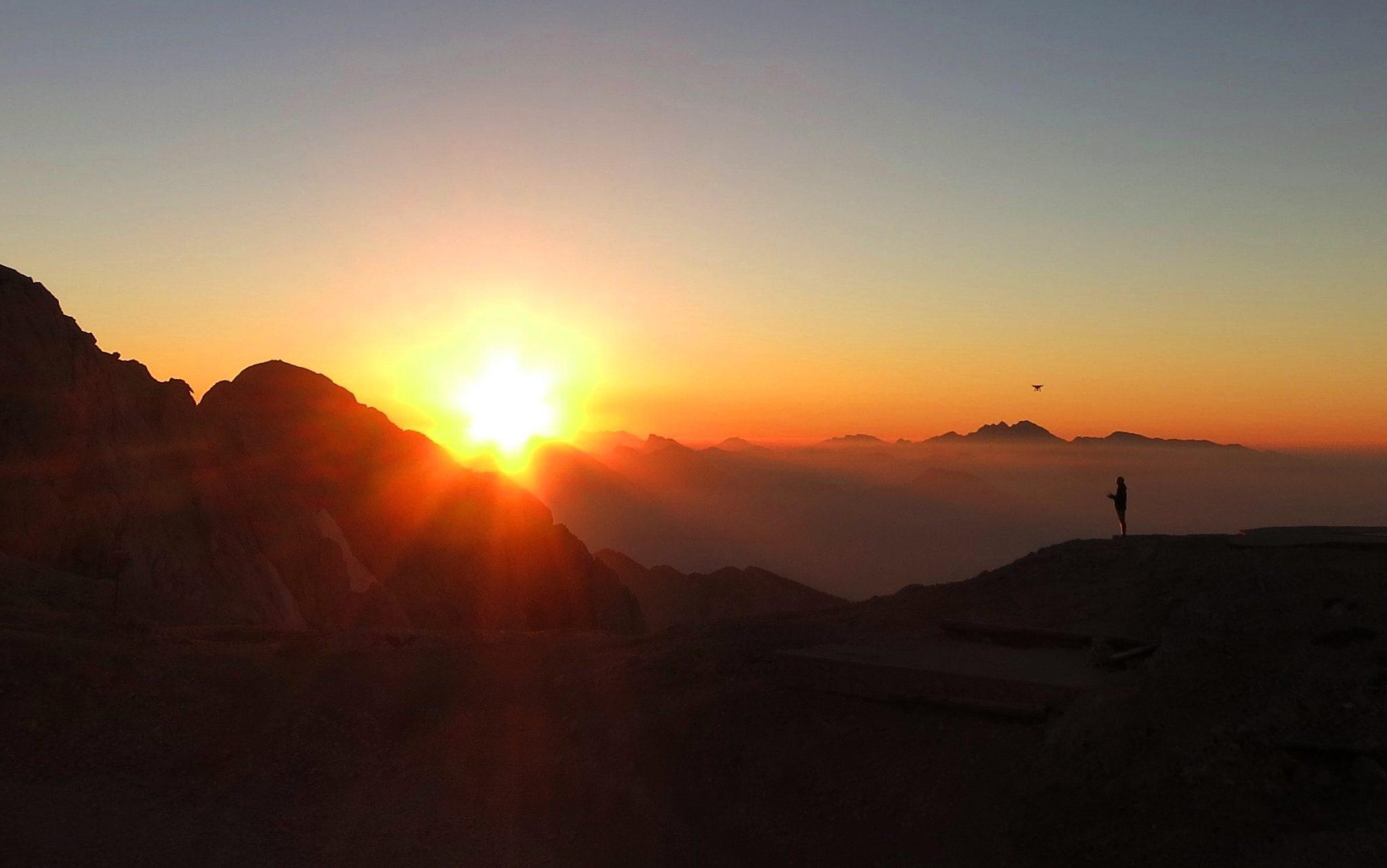 Kredarica at sunrise