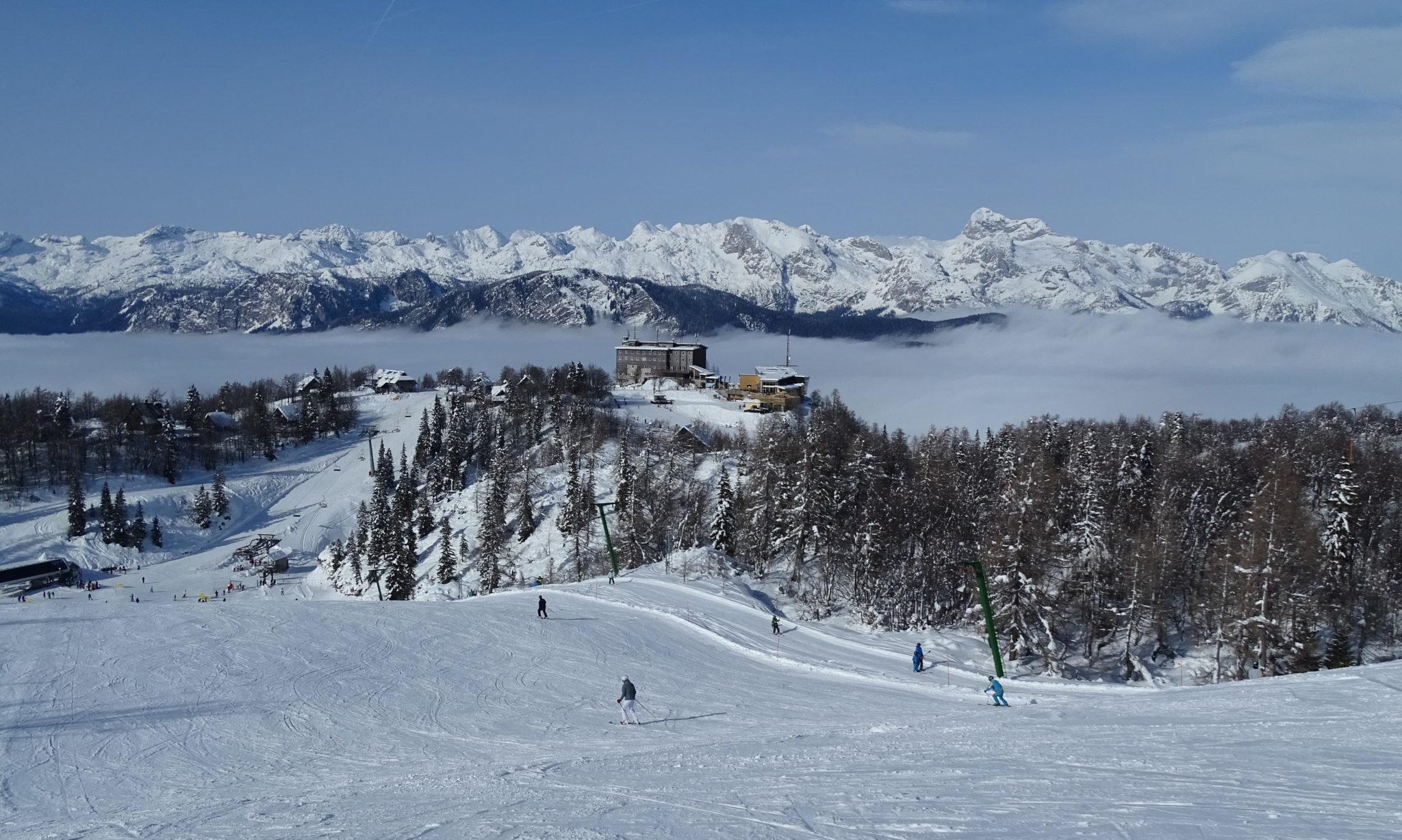 Vogel Ski Resort in winter