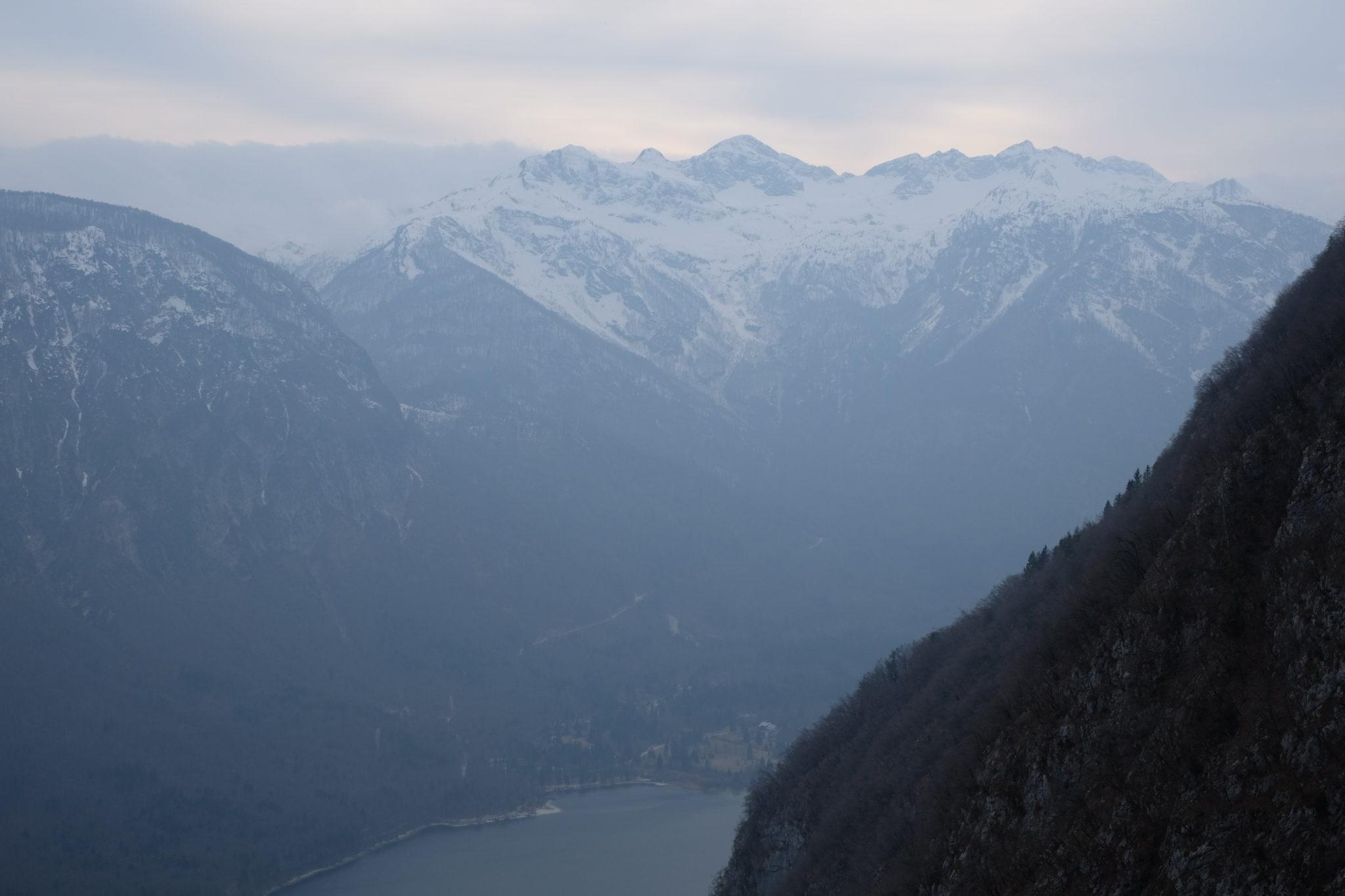 My top Instagram photo point over Lake Bohinj from Vogar. Slovenia
