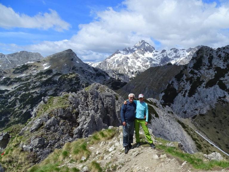 Hiking to Mt. Viševnik with my dad