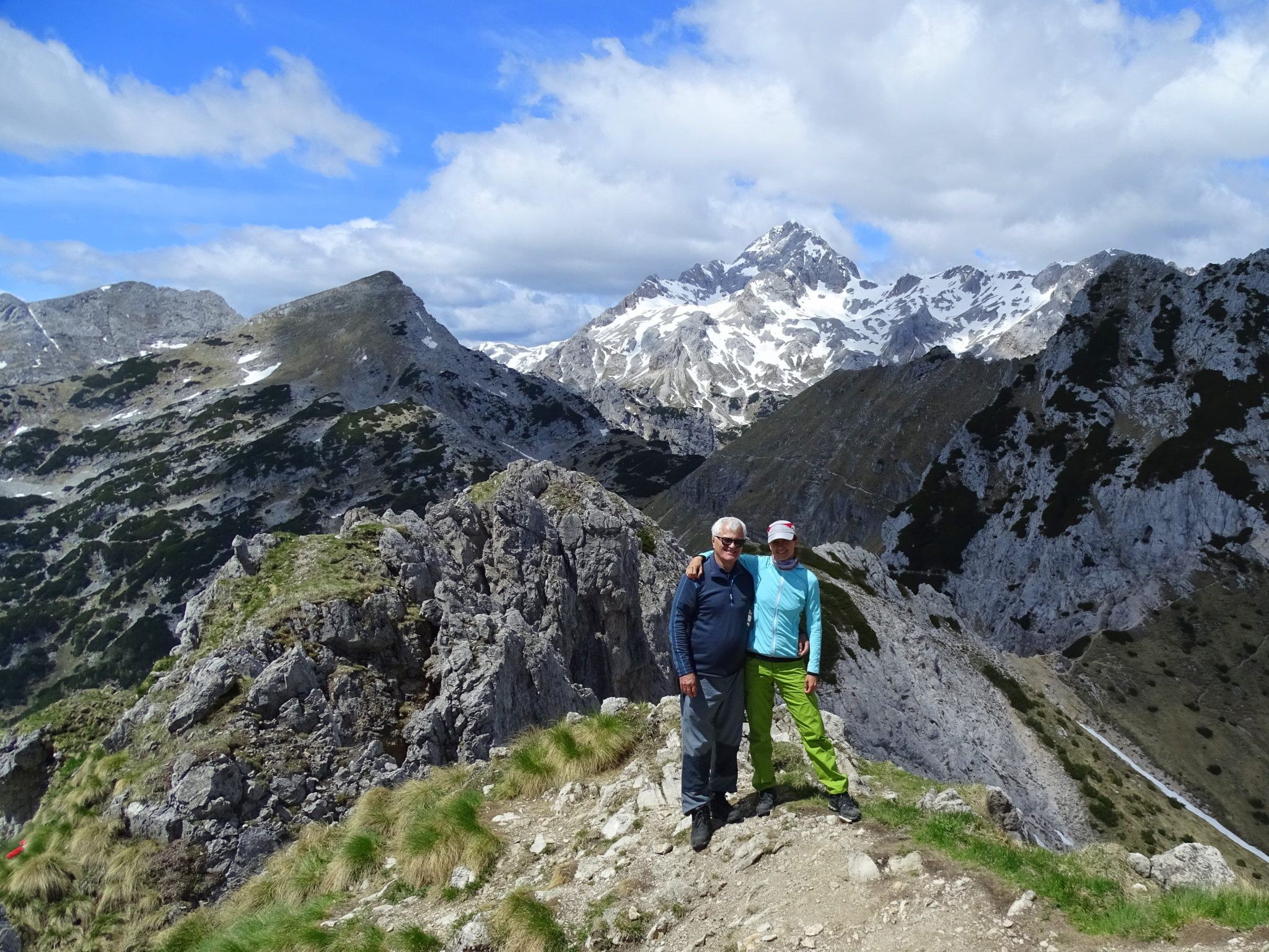 Hiking to Mt. Viševnik with my dad