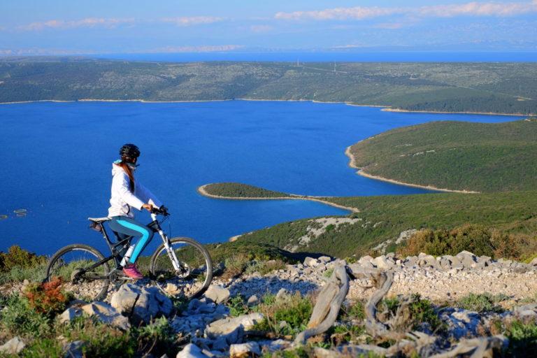 Mountain biking Osorščica, Lošinj