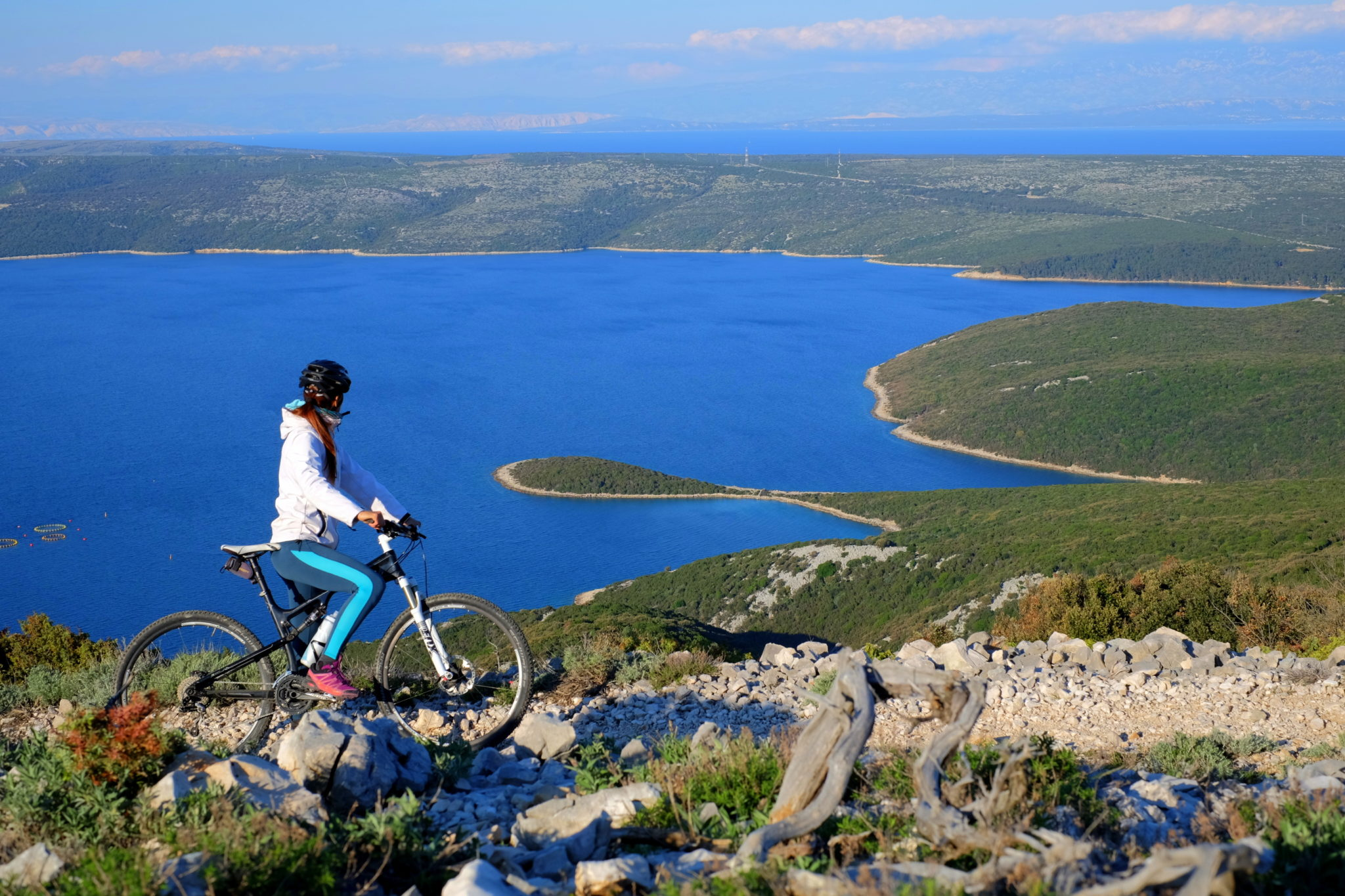 Mountain biking Osorščica, Lošinj