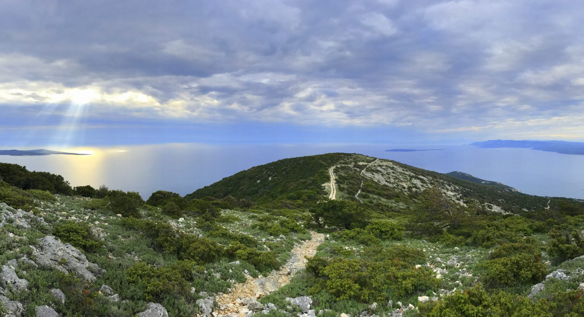 Scenic view from Osorščica, Lošinj