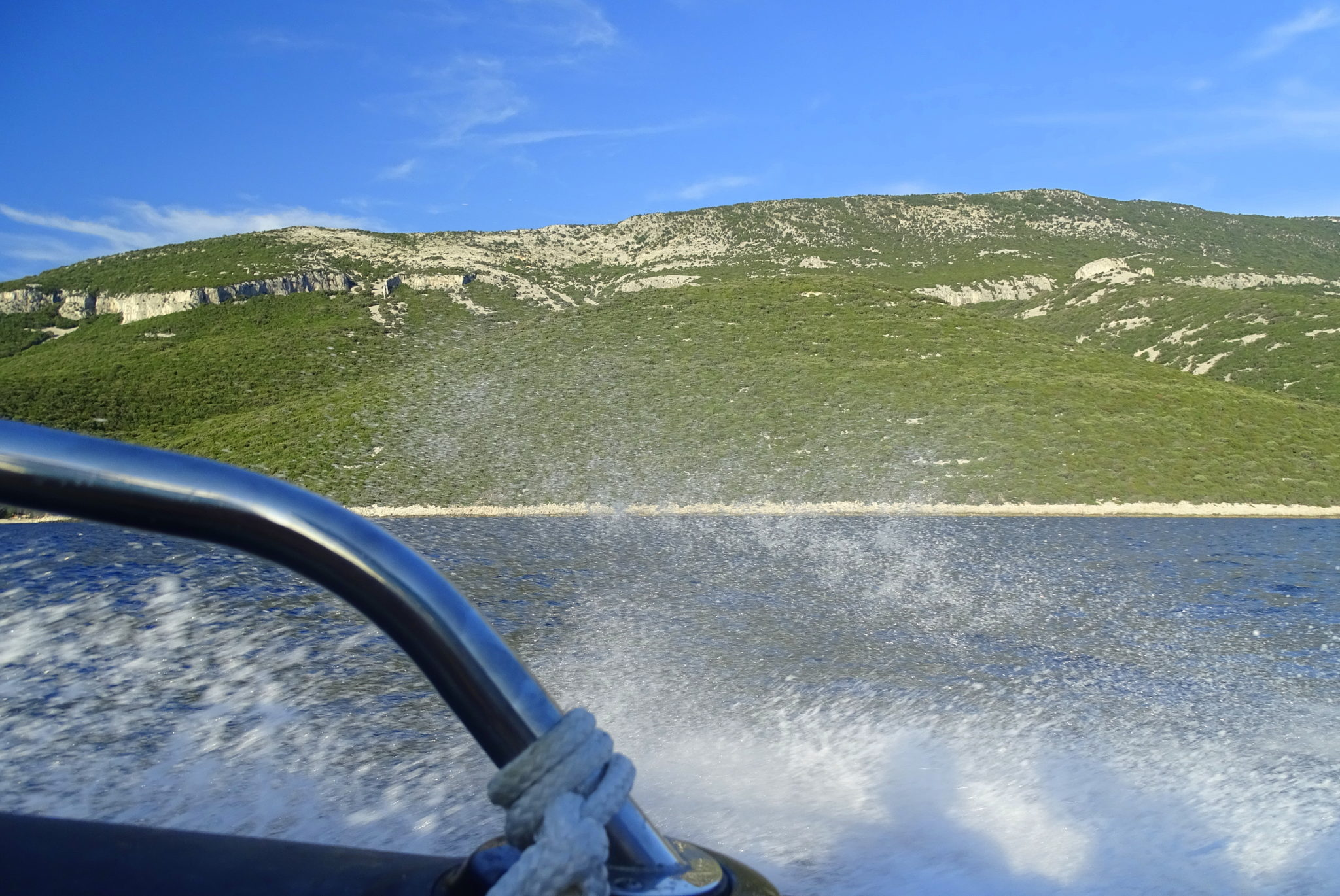 Boating around Lošinj