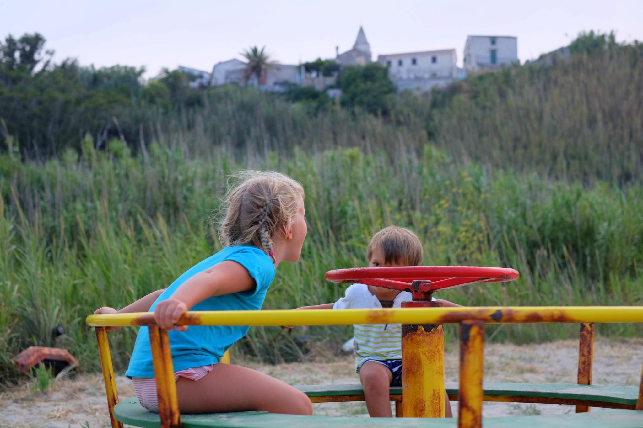 Susak and children playground