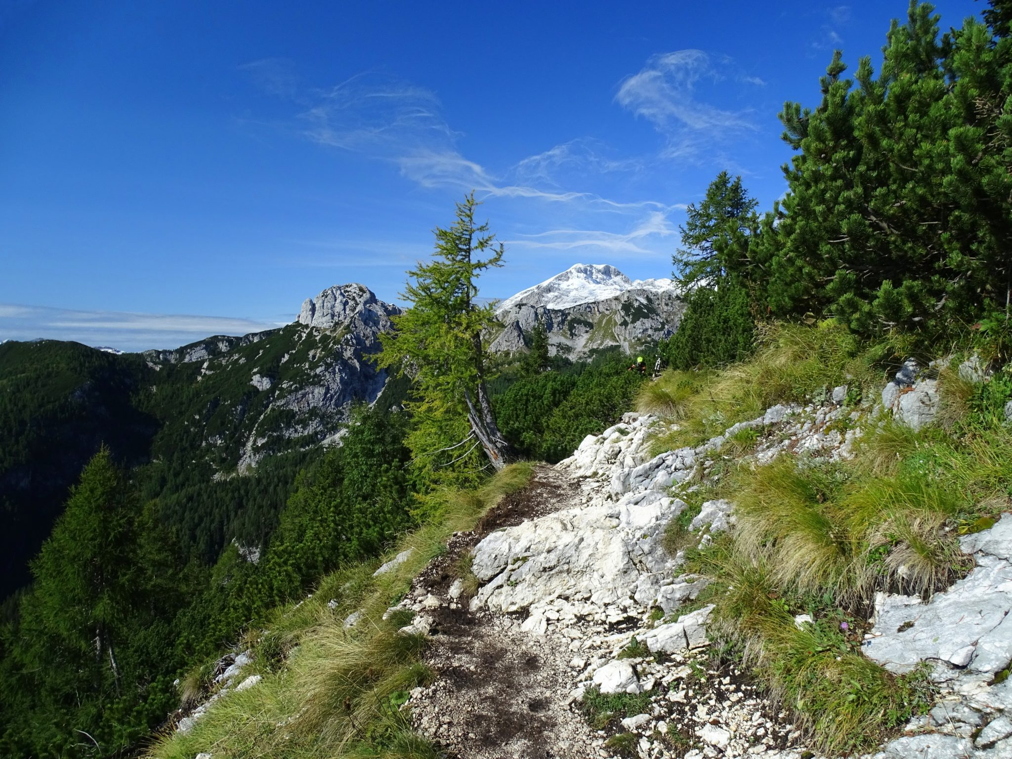 Julian Alps, trail to Vodnik Hut
