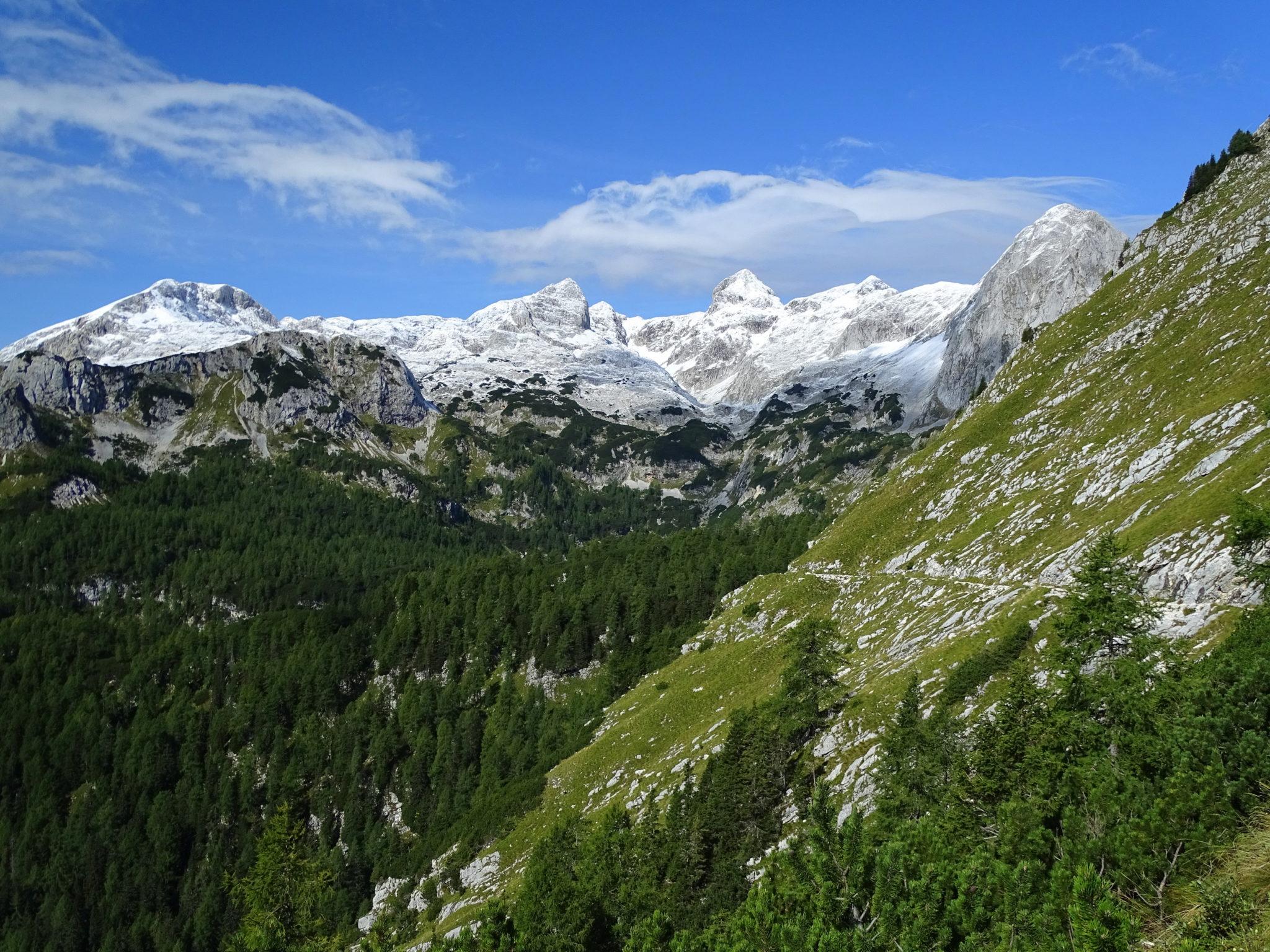 Julian Alps, trail to Vodnik Hut