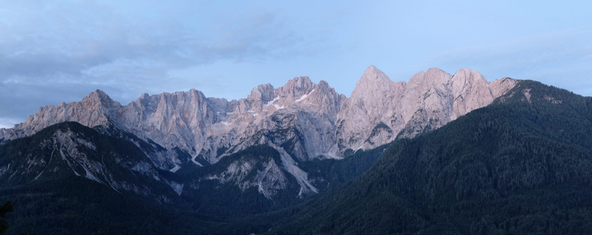 Martuljek Mountain Range of the Julian Alps, Kranjska Gora