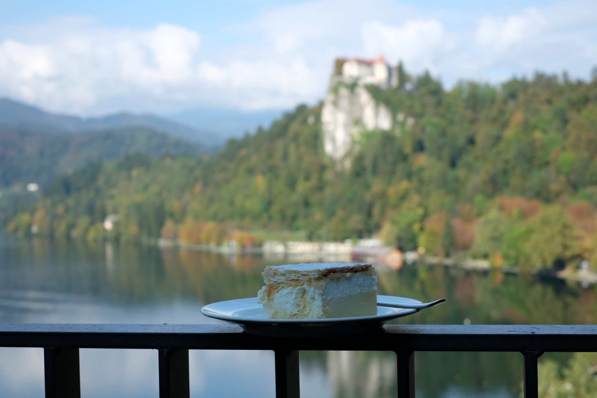 Cream cake Kremšnita in Bled