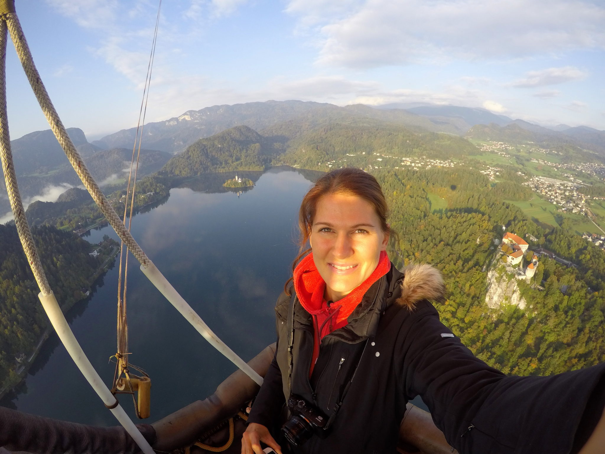 As spectacular as it gets: ballooning over Lake Bled, Slovenia