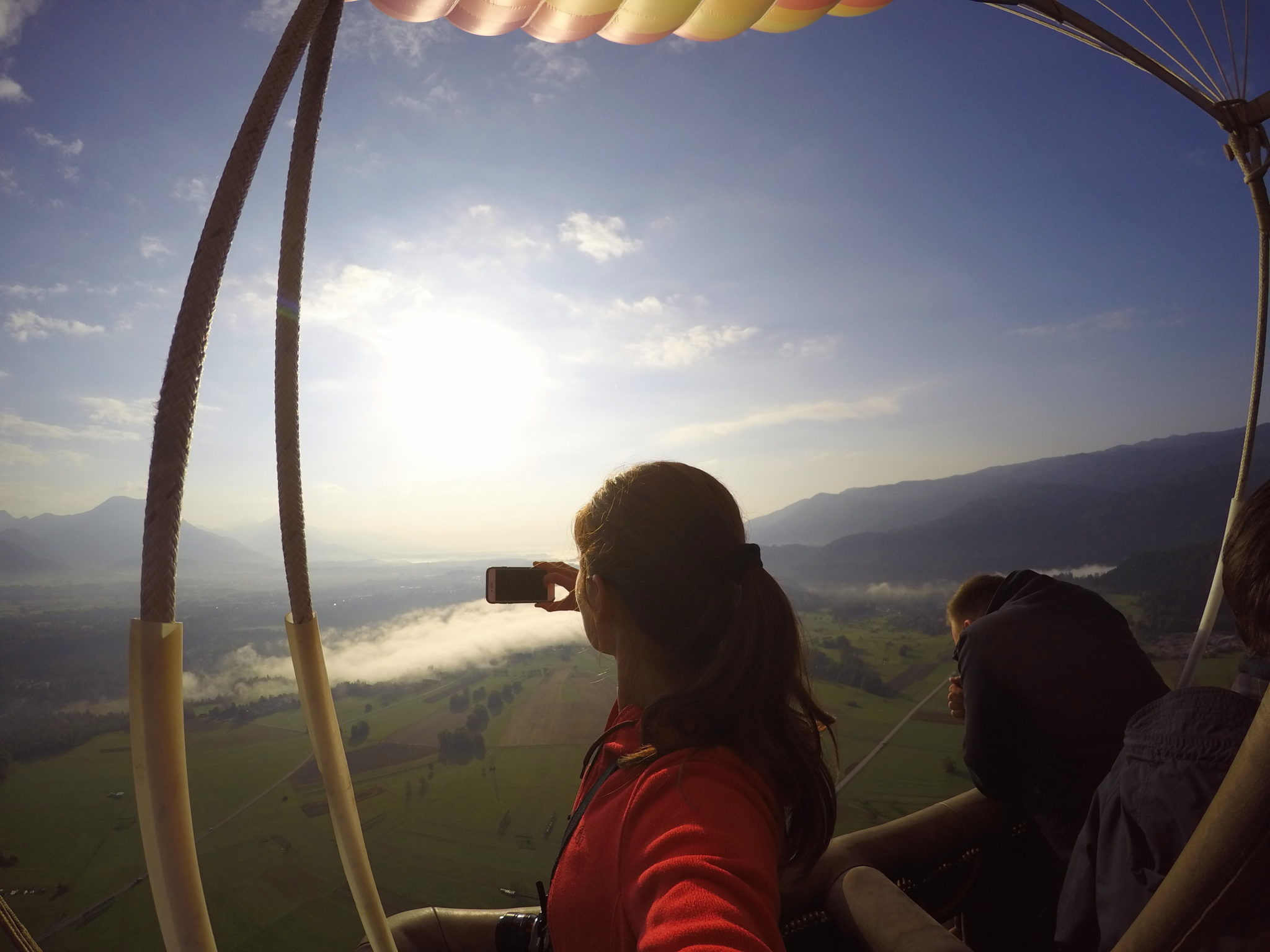 As spectacular as it gets: ballooning over Bled, Slovenia