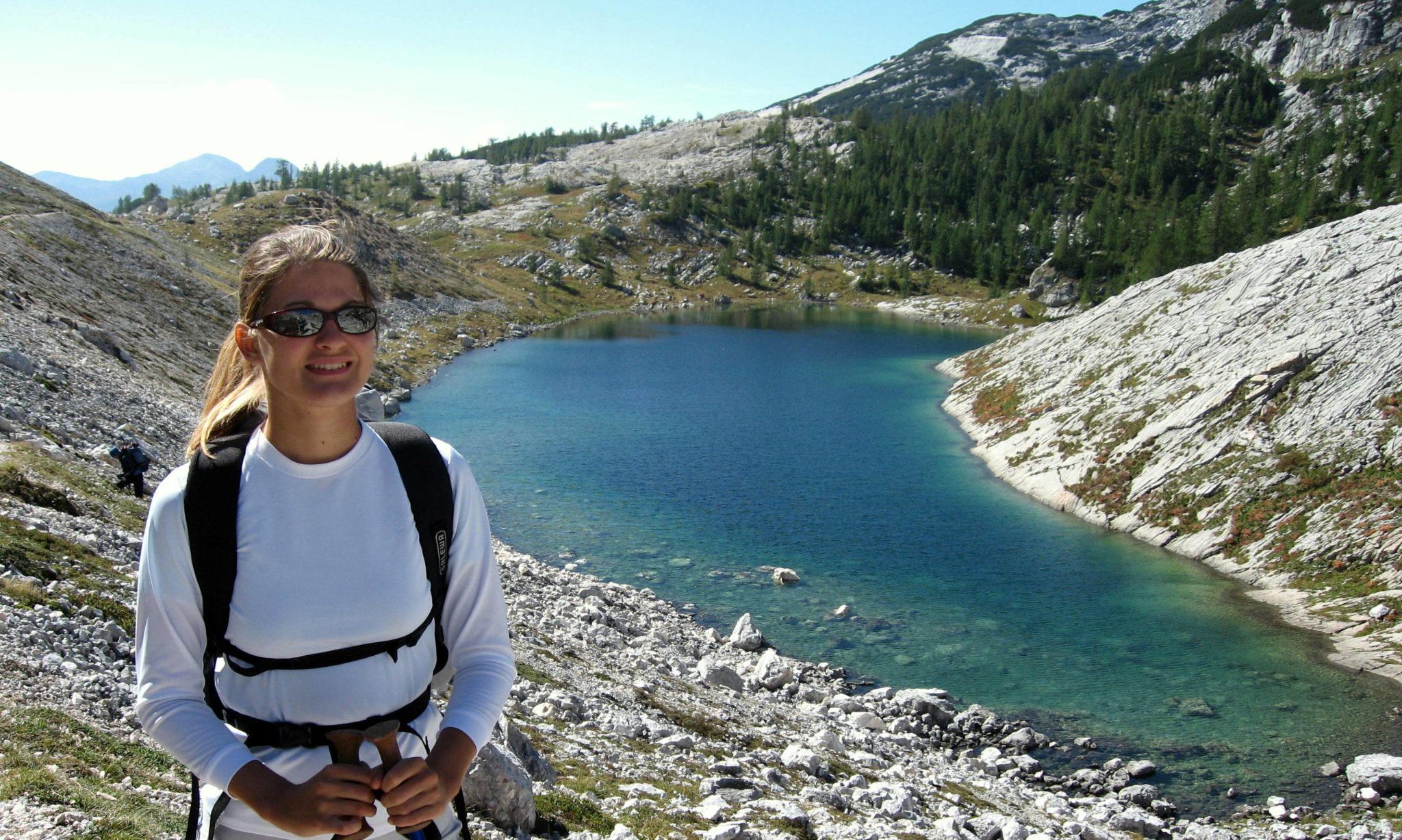 My favorite of the seven Triglav lakes – Lake Ledvica.