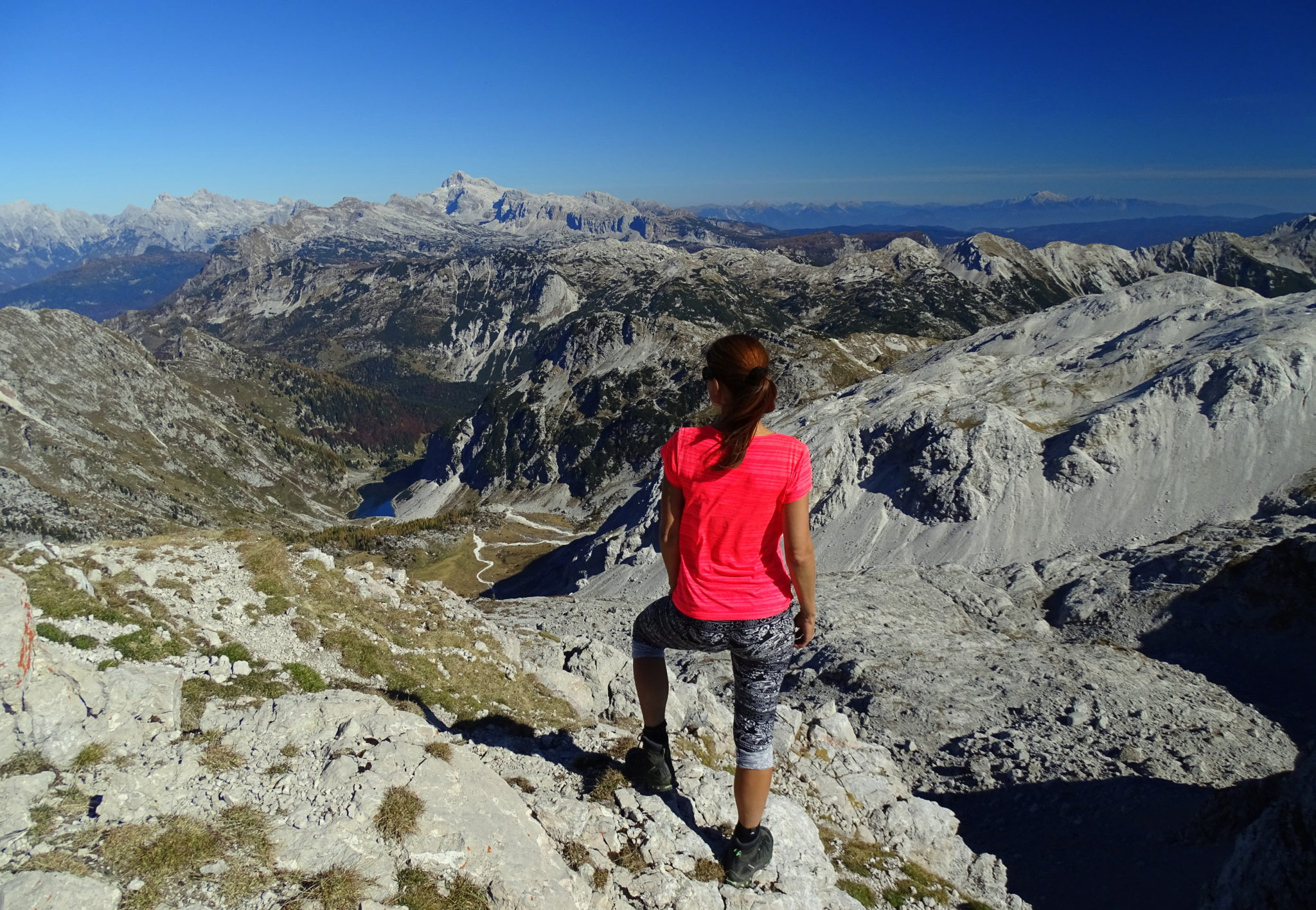 Atop Mt. Krn, Julian Alps, Slovenia