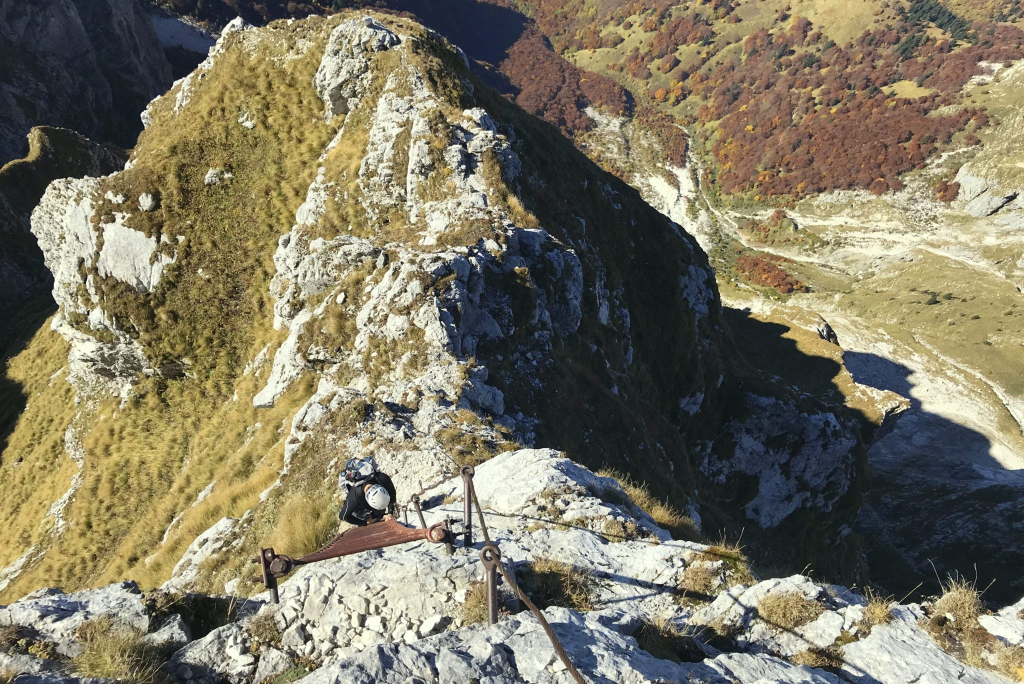 Climbing to Mt. Krn over the Silvo Koren Route