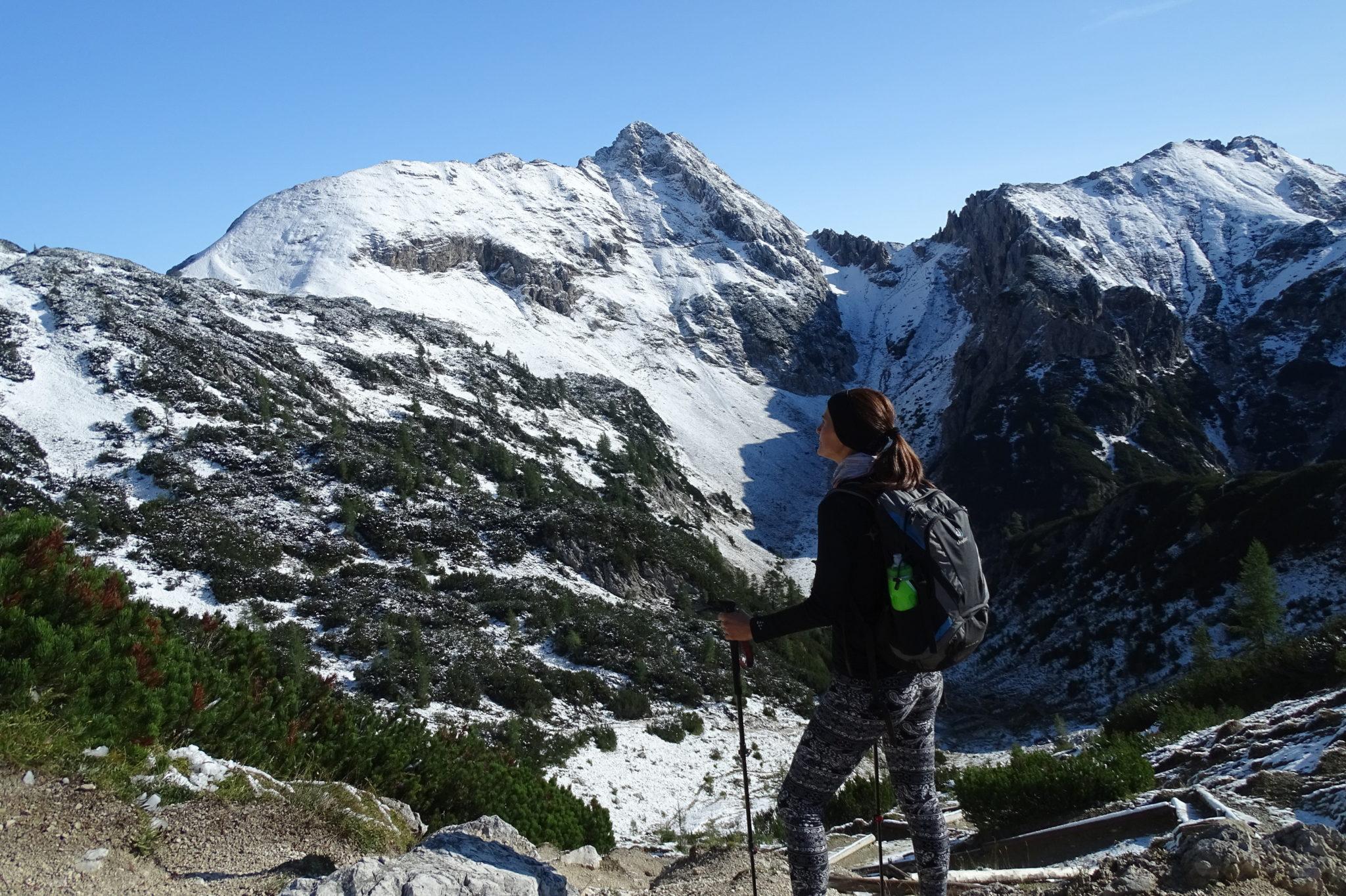 Mali Draški Vrh from the Studorski PrevaL, Julian Alps, Slovenia, Triglav National Park