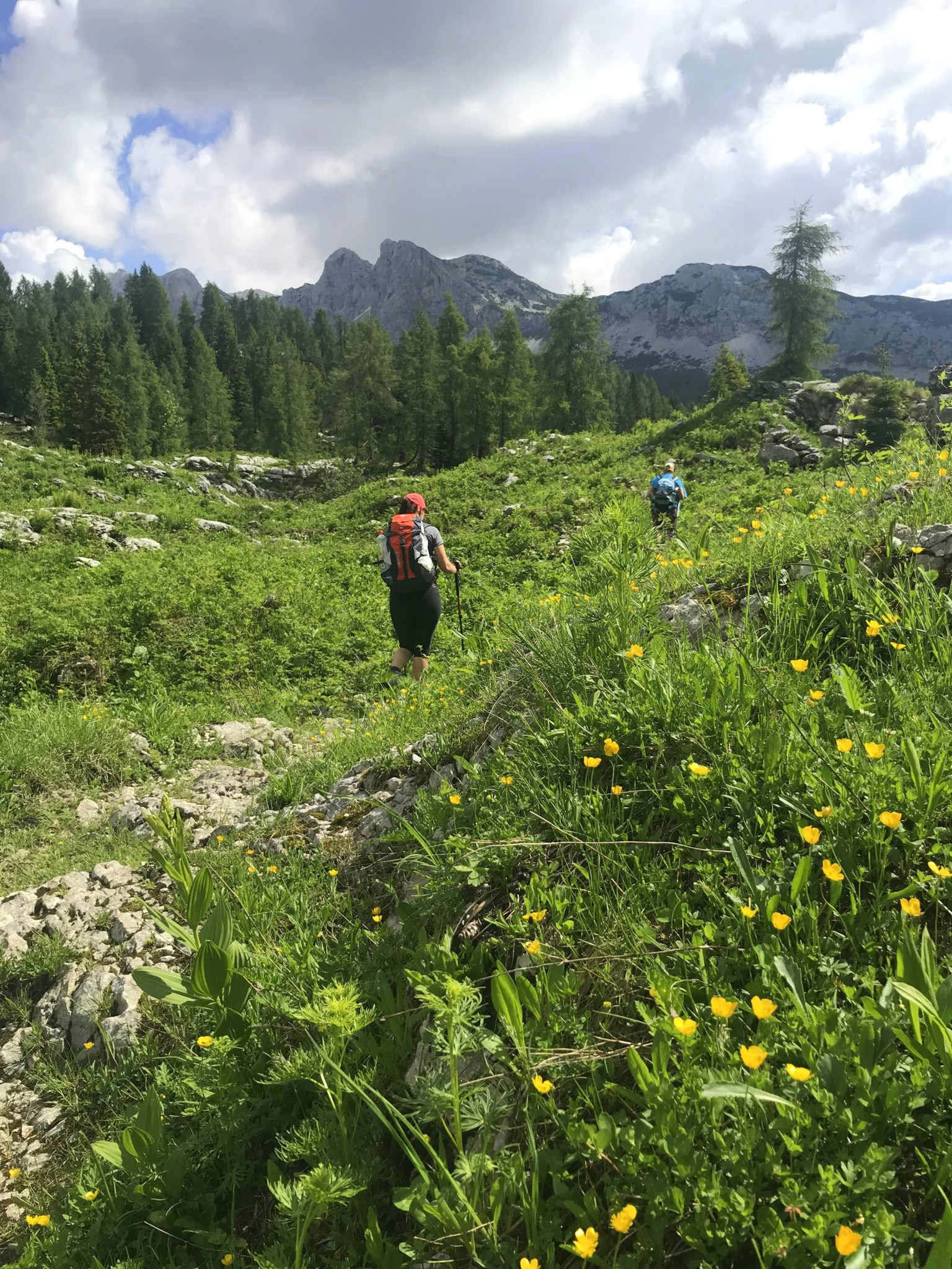 Hiking in Triglav National Park