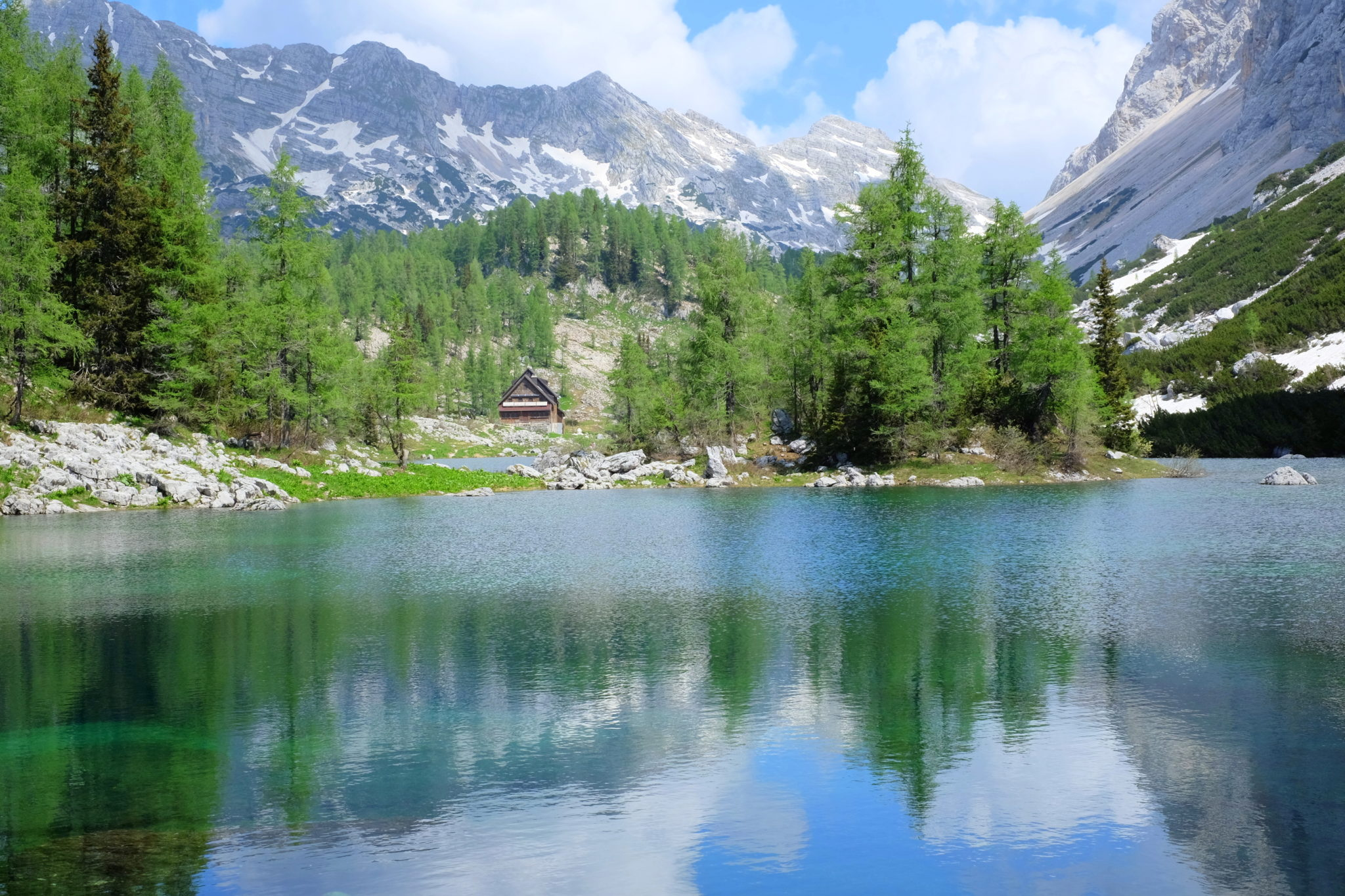The Double Lake, Trigav Lakes