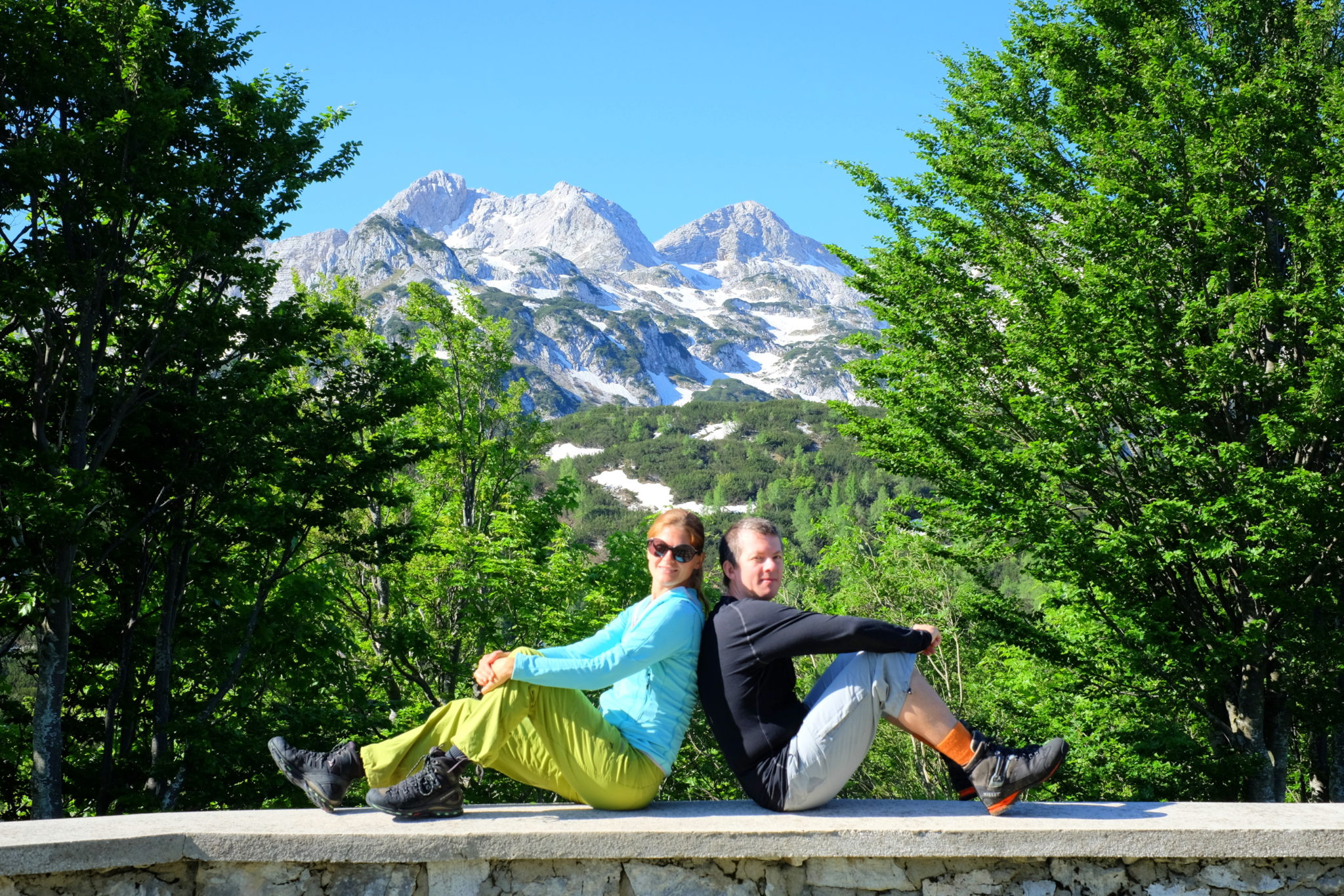 The views from the Komna Hut, Julian Alps, Slovenia