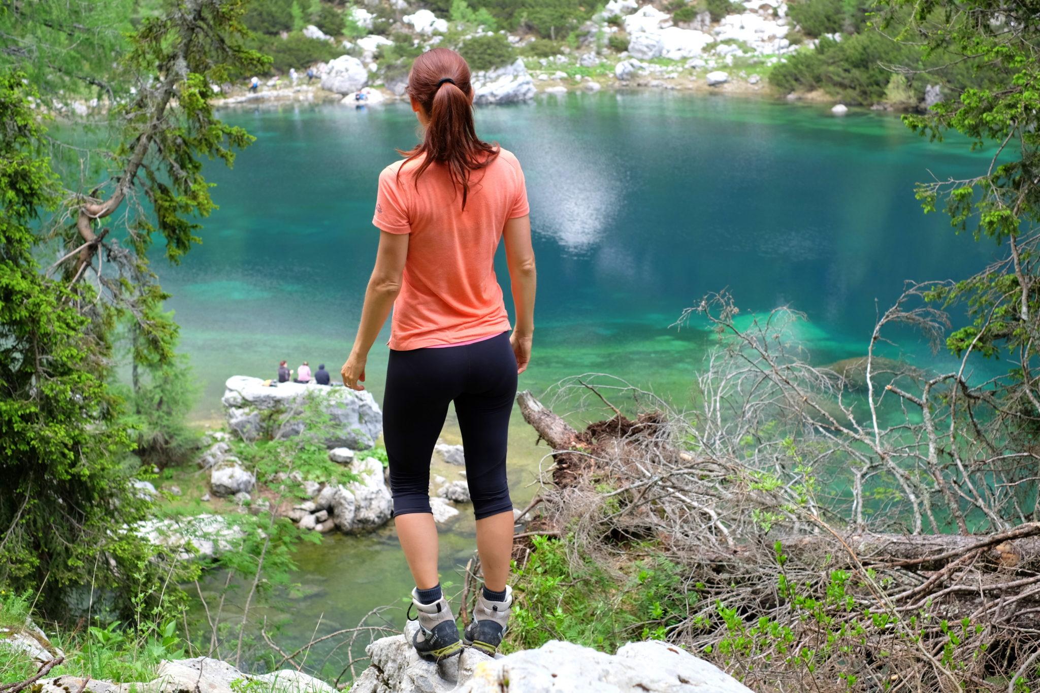 By the Double Lake, Triglav Lakes, Slovenia