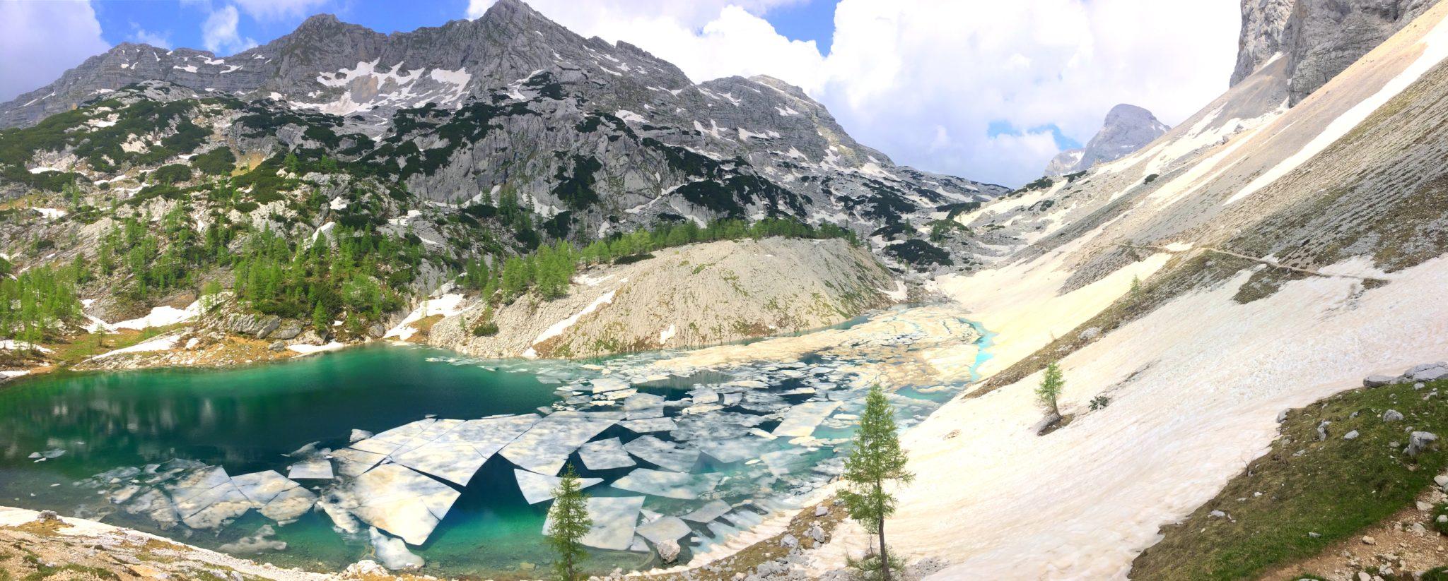 The Big Lake of the Triglav Lakes, Julian Alps, Slovenia