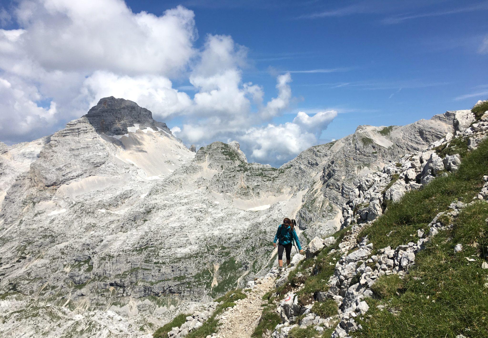 Hiking in Julian Alps