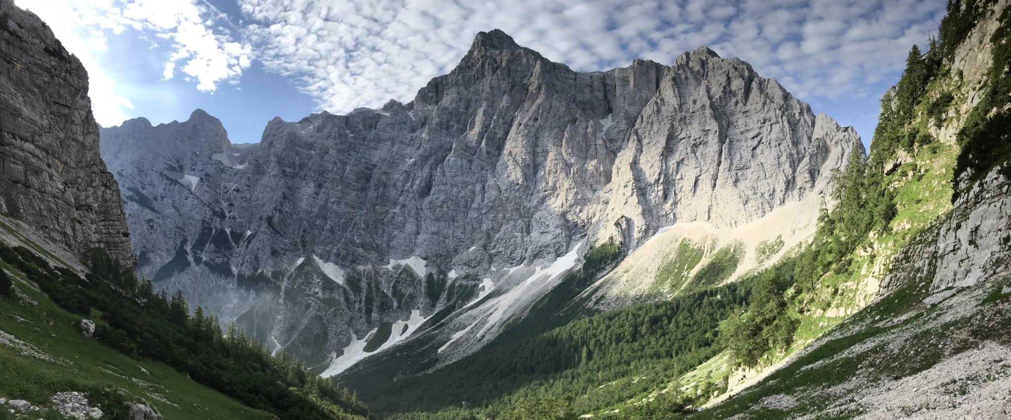 Triglav North Face, Julian Alps, Slovenia