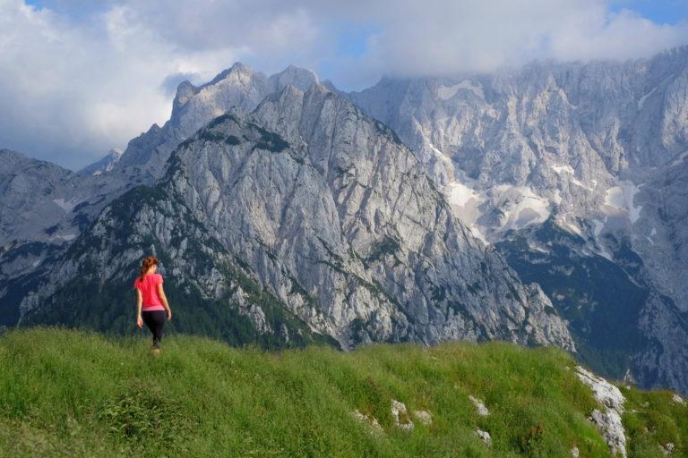 Hiking in the Kamnik-Savinja Alps