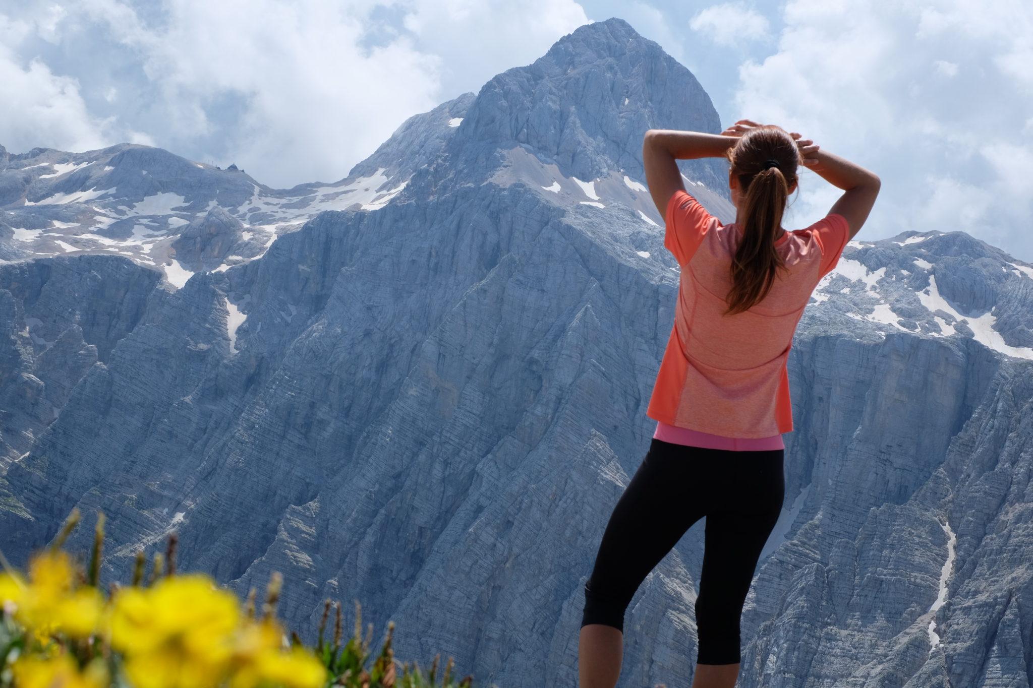 Fantastic views of Triglav, Slovenia's highest mountain