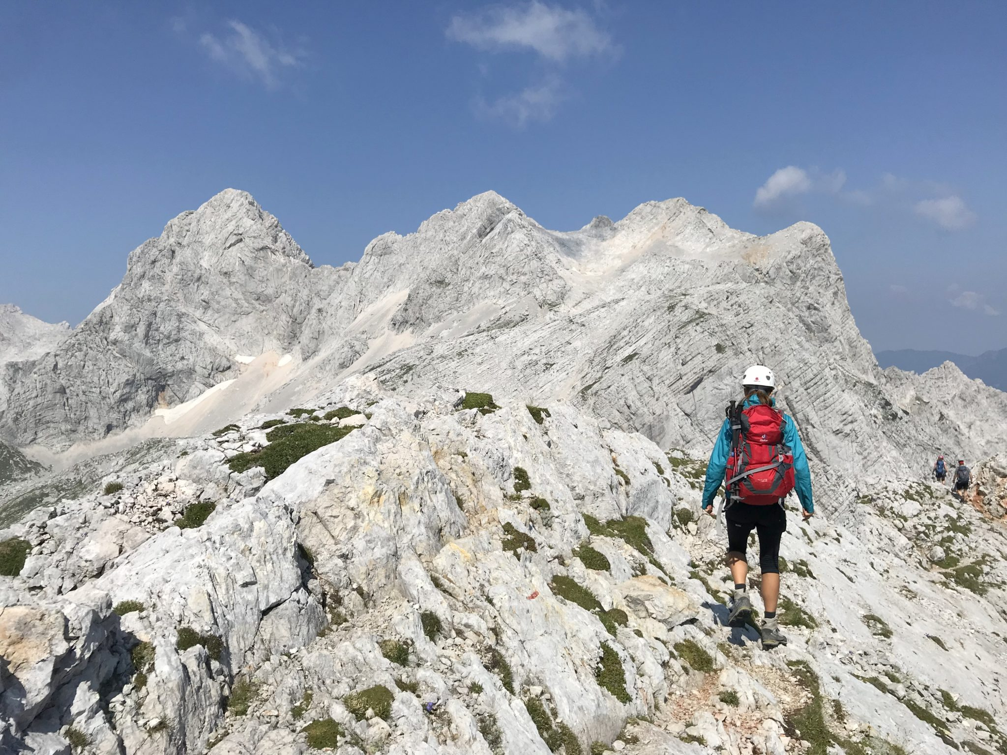 Hiking in the Kamnik-Savinja Alps, Slovenia