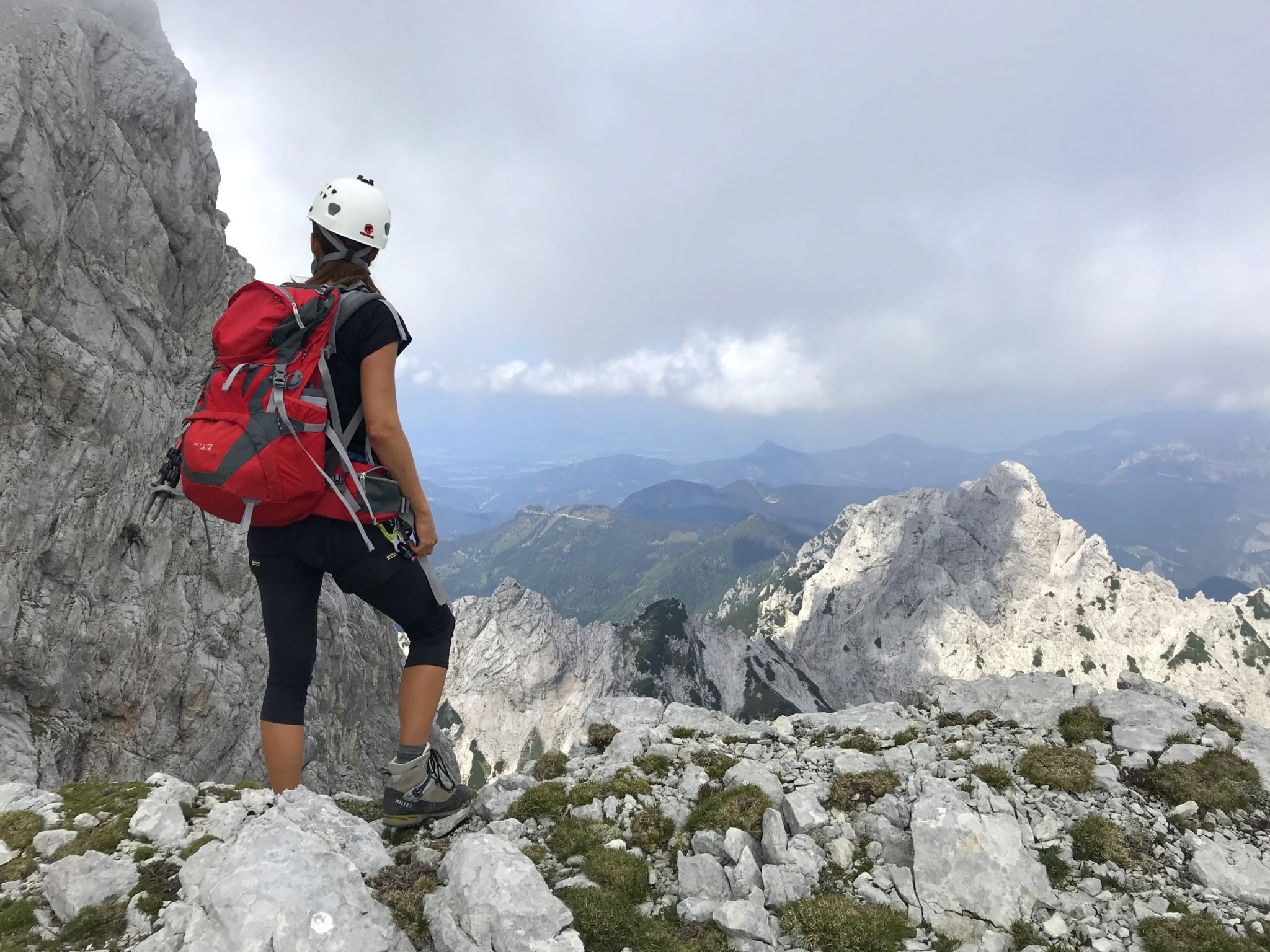 Climbing in the Kamnik-Savinja Alps