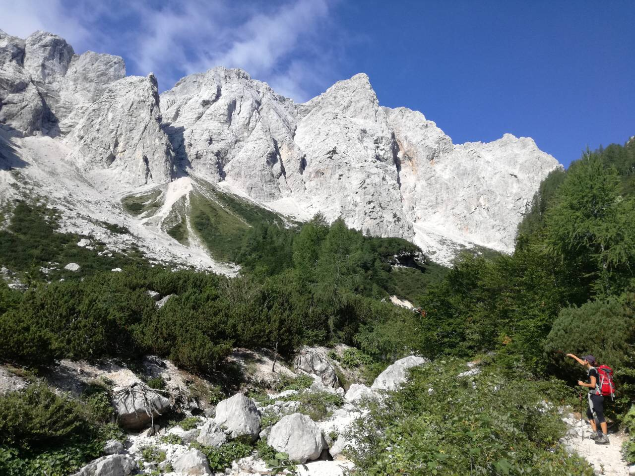 Hiking in the Kamnik-Savinja Alps