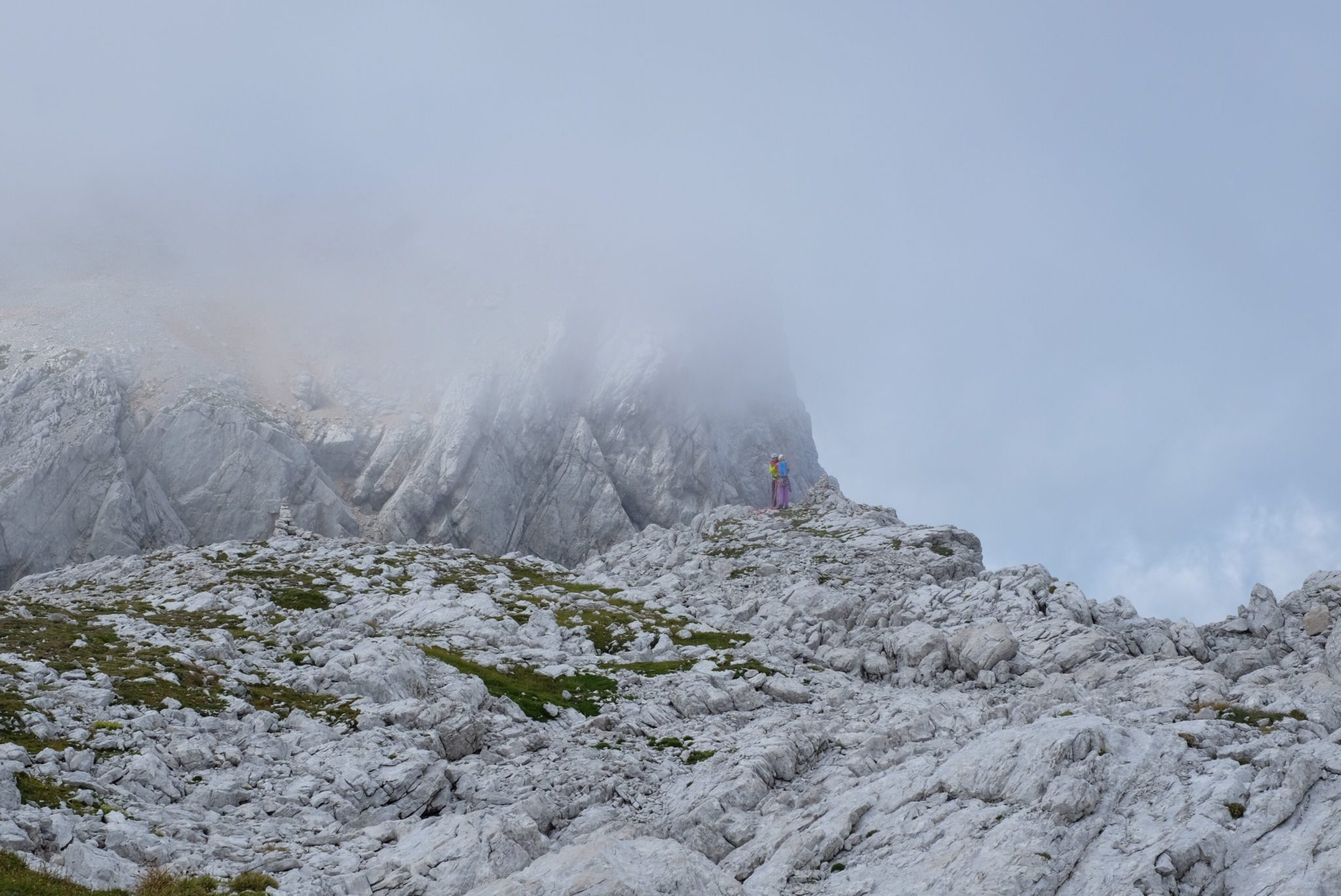 Cloudy Kamnik-Savinja Alps