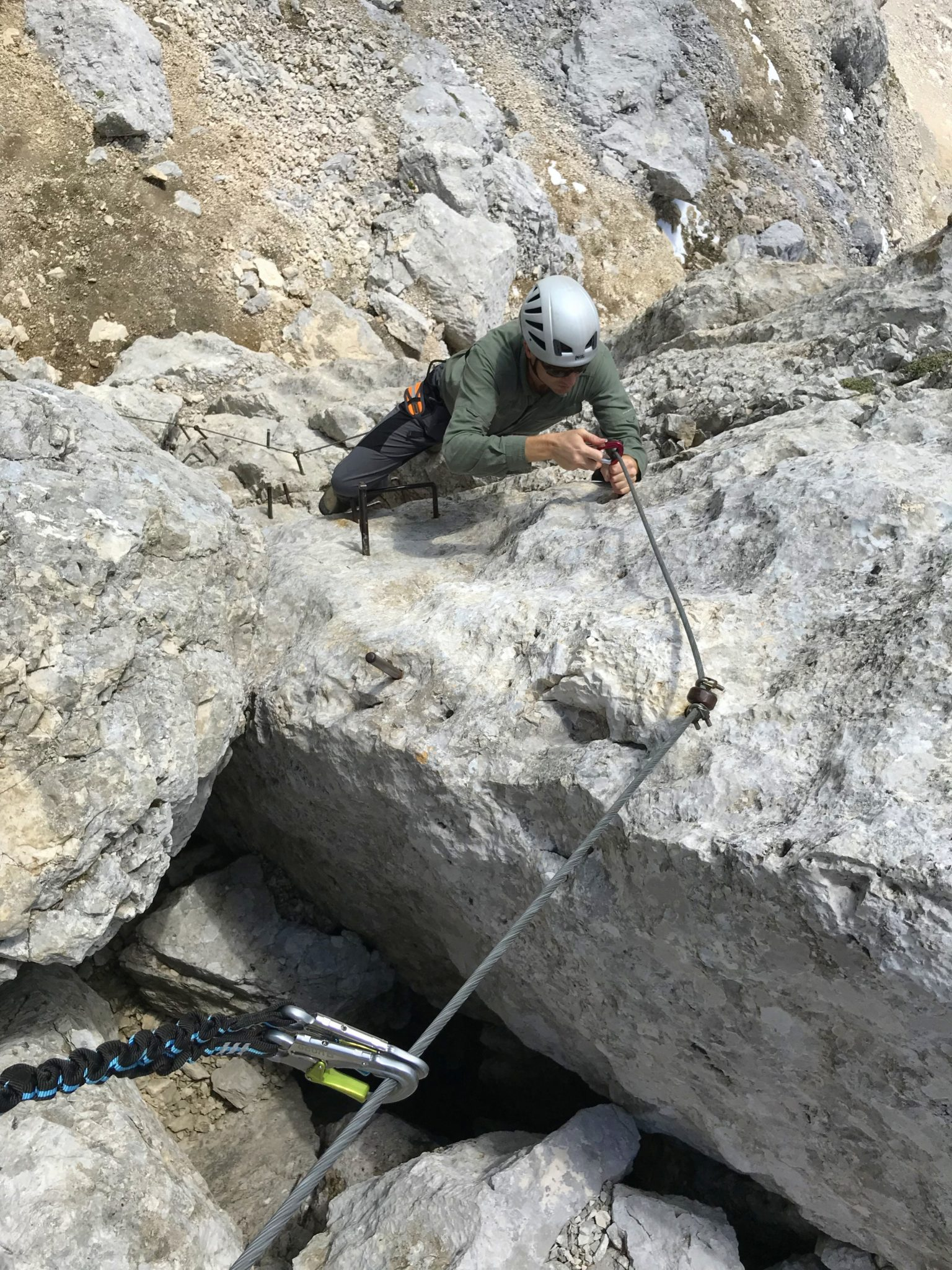 Climbing Mt. Razor, Julian Alps, Slovenia