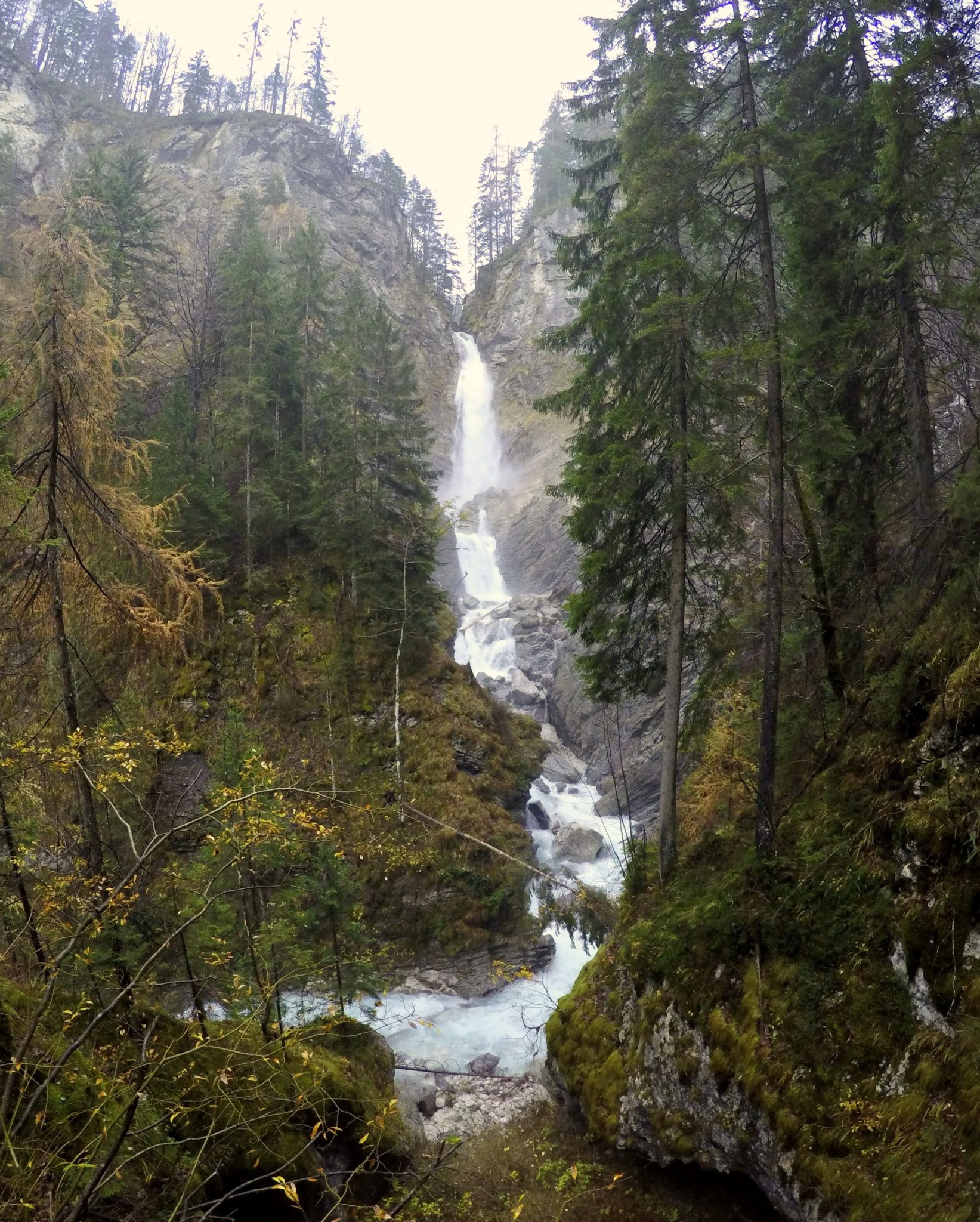 Lower Martuljek Fall, Triglav National Park, Slovenia