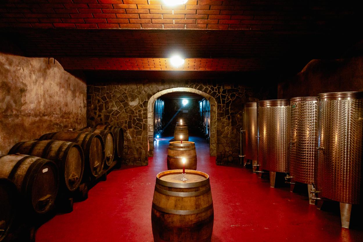 Kunej Wine Cellar, Cviček., Modra Frankinja, Chocolate Wine, Brestanica, Krško Region, Slovenia