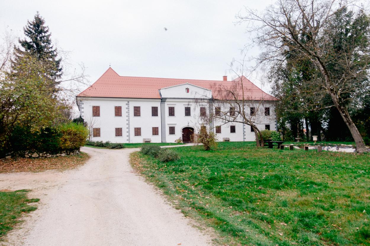 Castle in Raka, Krško, Slovenia